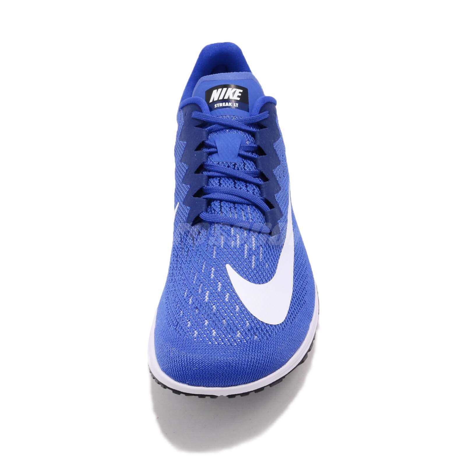 Nike Air Zoom Streak LT 4 IV Hyper Royal White Men Running Shoes ... 1afb0eed3