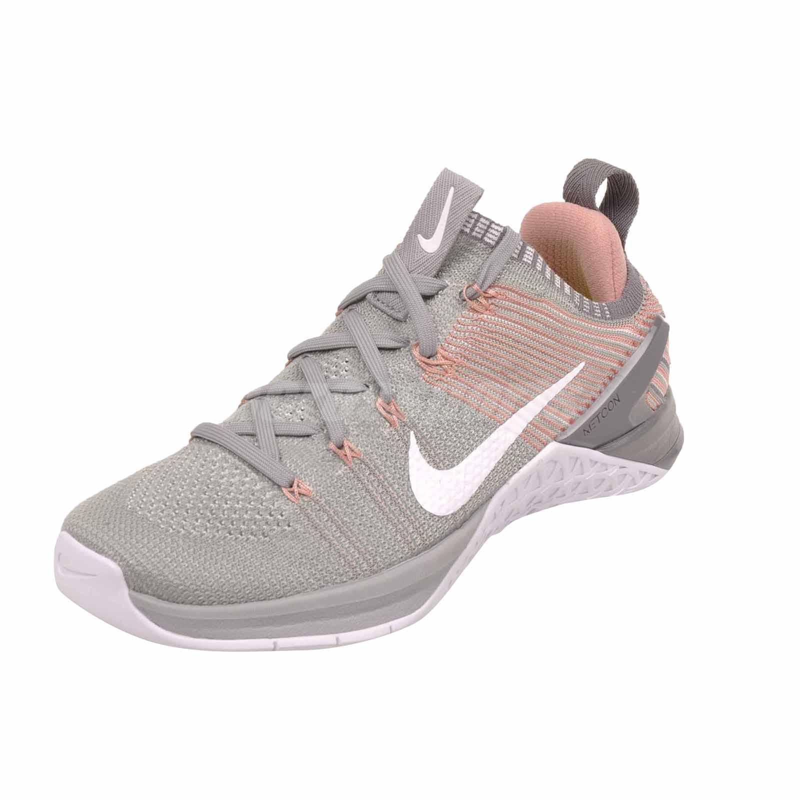 6a337664df4e9 Nike Wmns Metcon DSX Flyknit 2 Cross Training Womens Shoes Silver ...
