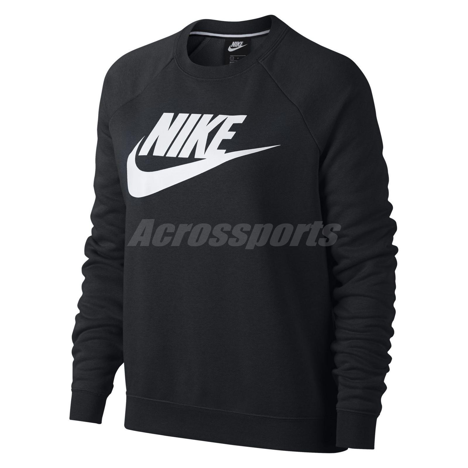78161492 Details about Nike Women Sportswear Rally Sweatshirt Training Workout  Fitness Black 930906-010