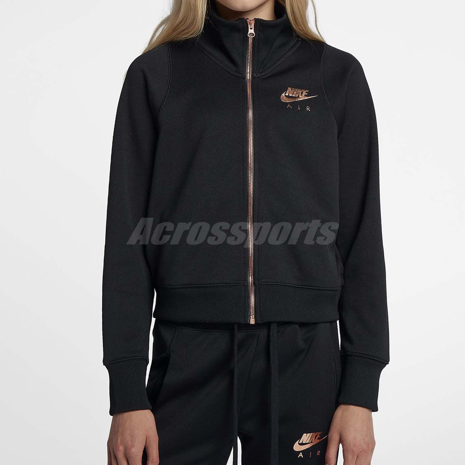 1326f7323 Details about Nike Women Air N98 Jacket Crop Top Bomber Training Workout  Sport Gold 932056-010