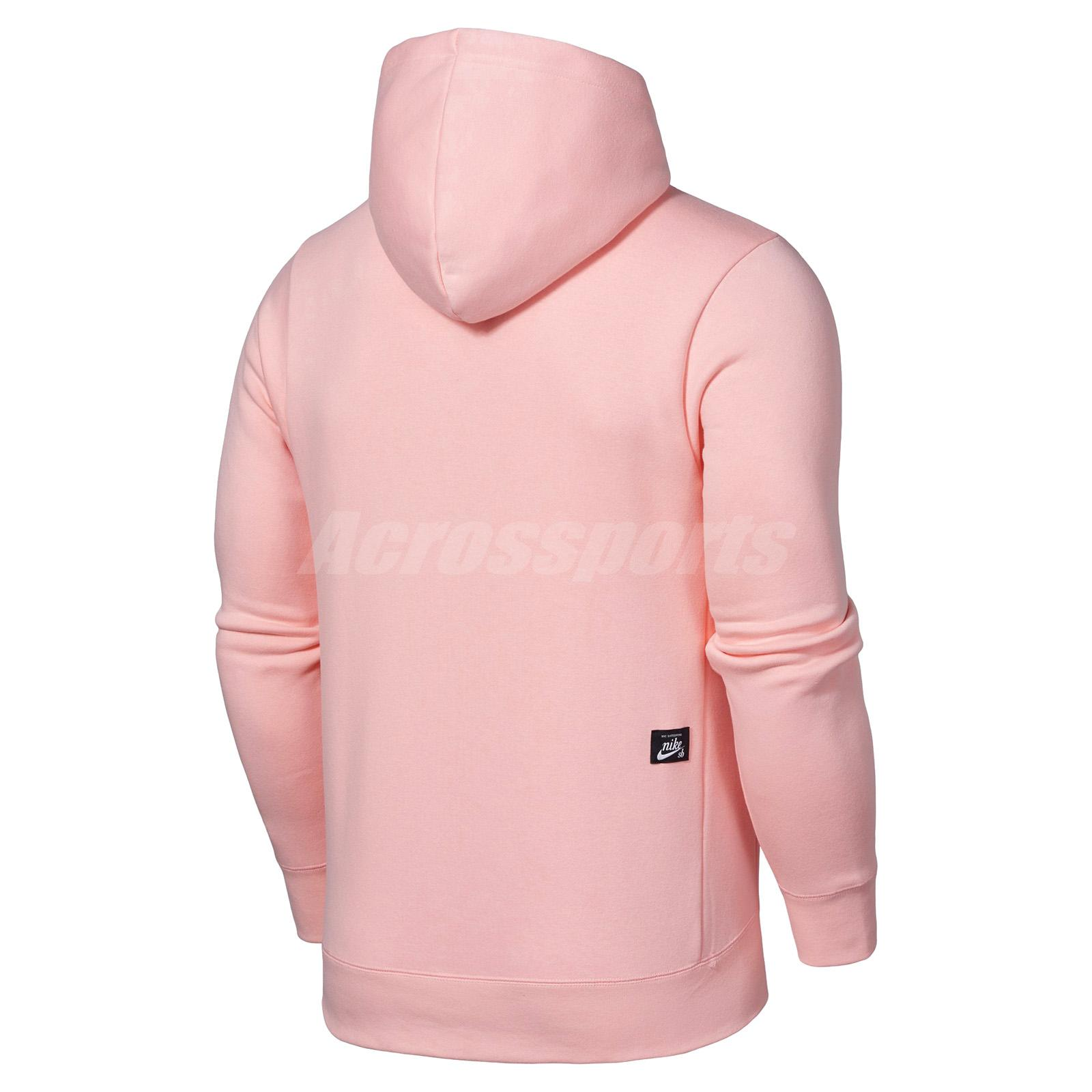 Details about Nike SB X NBA Icon Hoodie Fleece Pullover Basketball All Size  Pink 938413-646