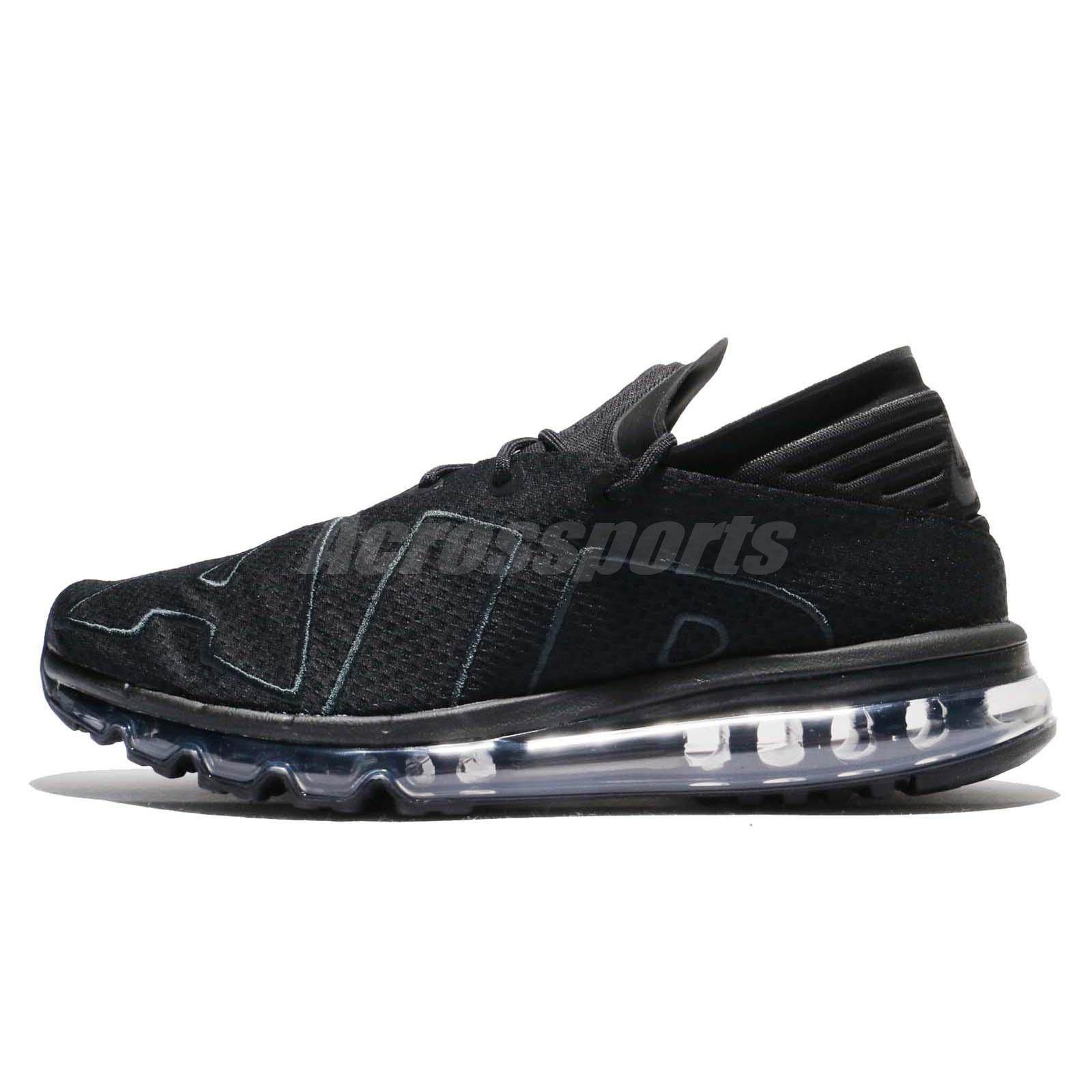 release date 91f34 684ba Nike Air Max Flair Black Anthracite More Uptempo Men Running Shoes 942236 -002