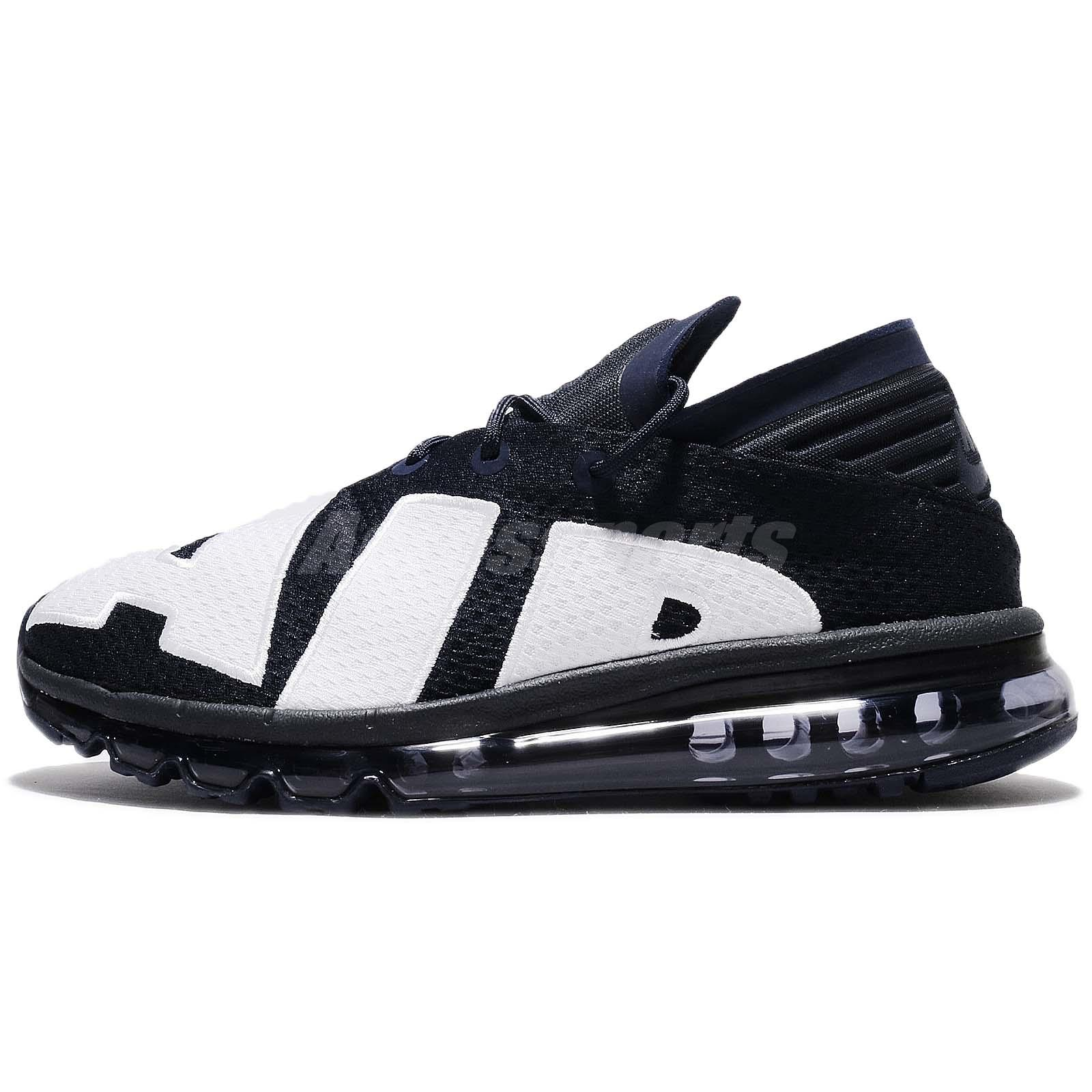 0eeb94098998 Nike Air Max Flair Dark Obsidian White Men Running Shoes Sneakers 942236-400