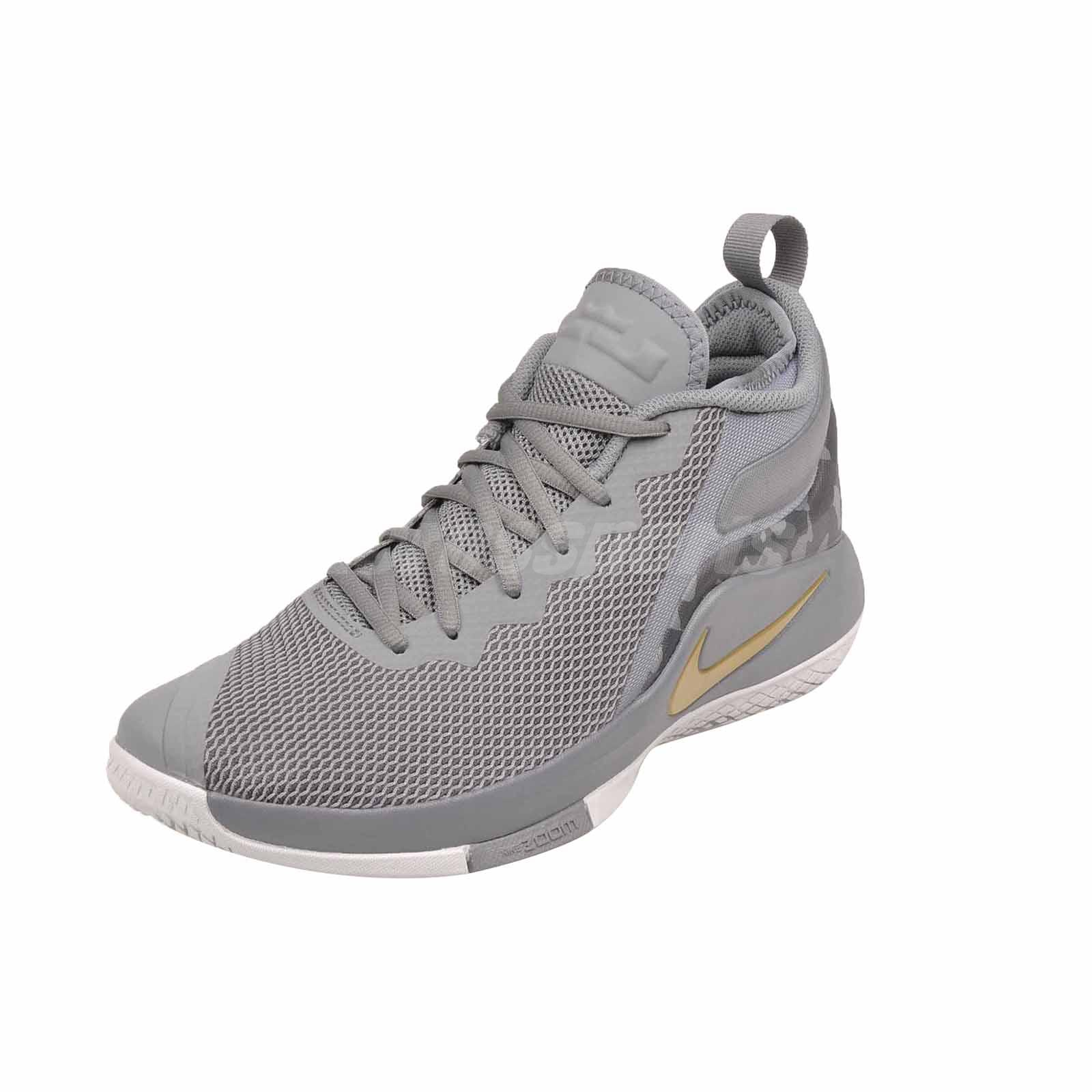 6514bfa00c3 Nike Lebron Witness II Basketball Mens Shoes Cool Grey 942518-009