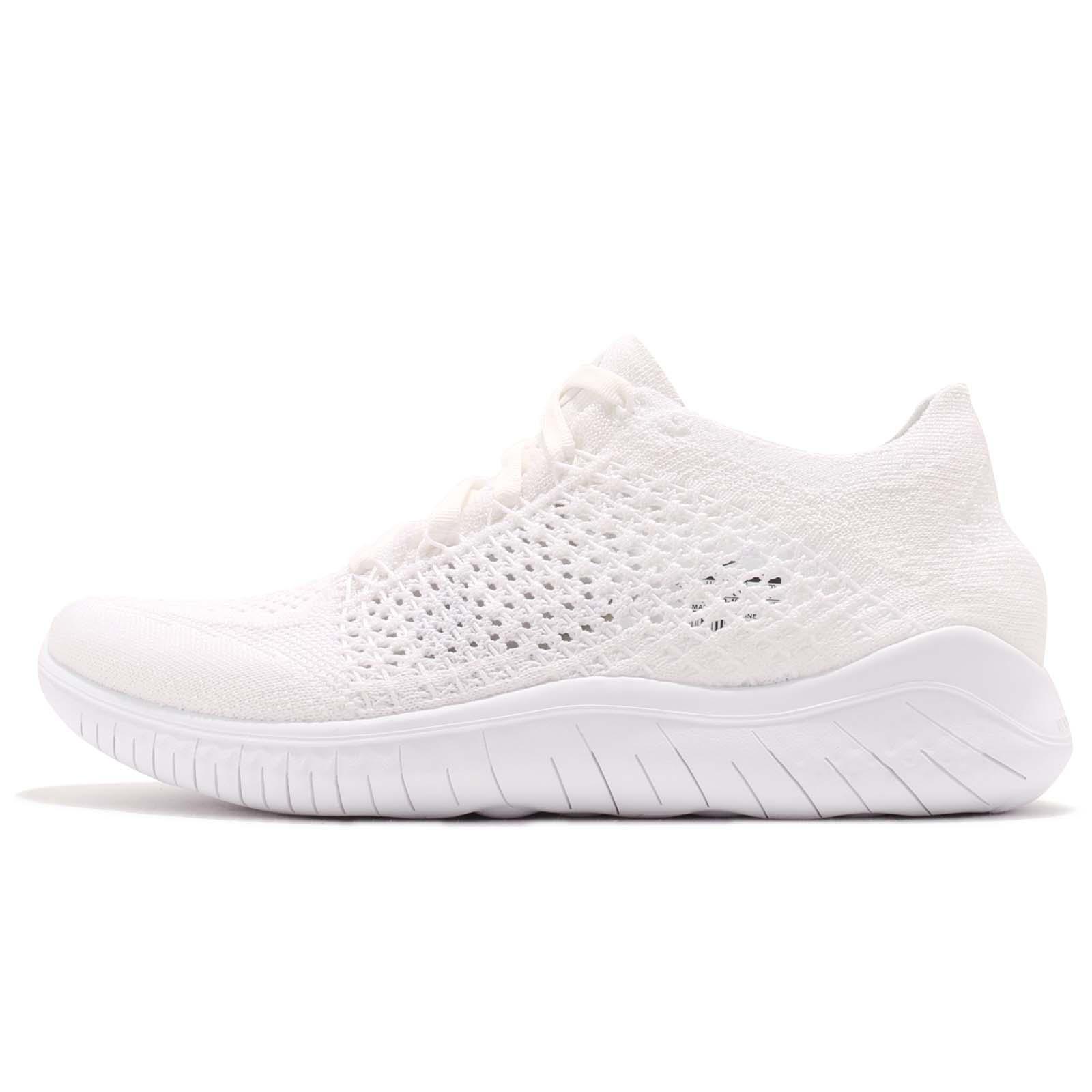 0b87769ca00c6 Nike Wmns Free RN Flyknit 2018 Triple White Women Running Shoes 942839-103