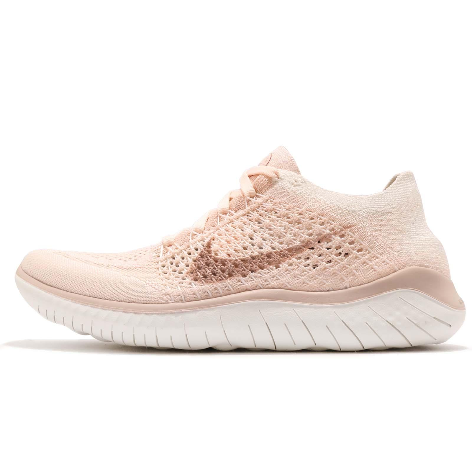 superior quality b891c 29372 Nike Wmns Free RN Flyknit 2018 Guava Ice Beige Women Running Shoes  942839-802