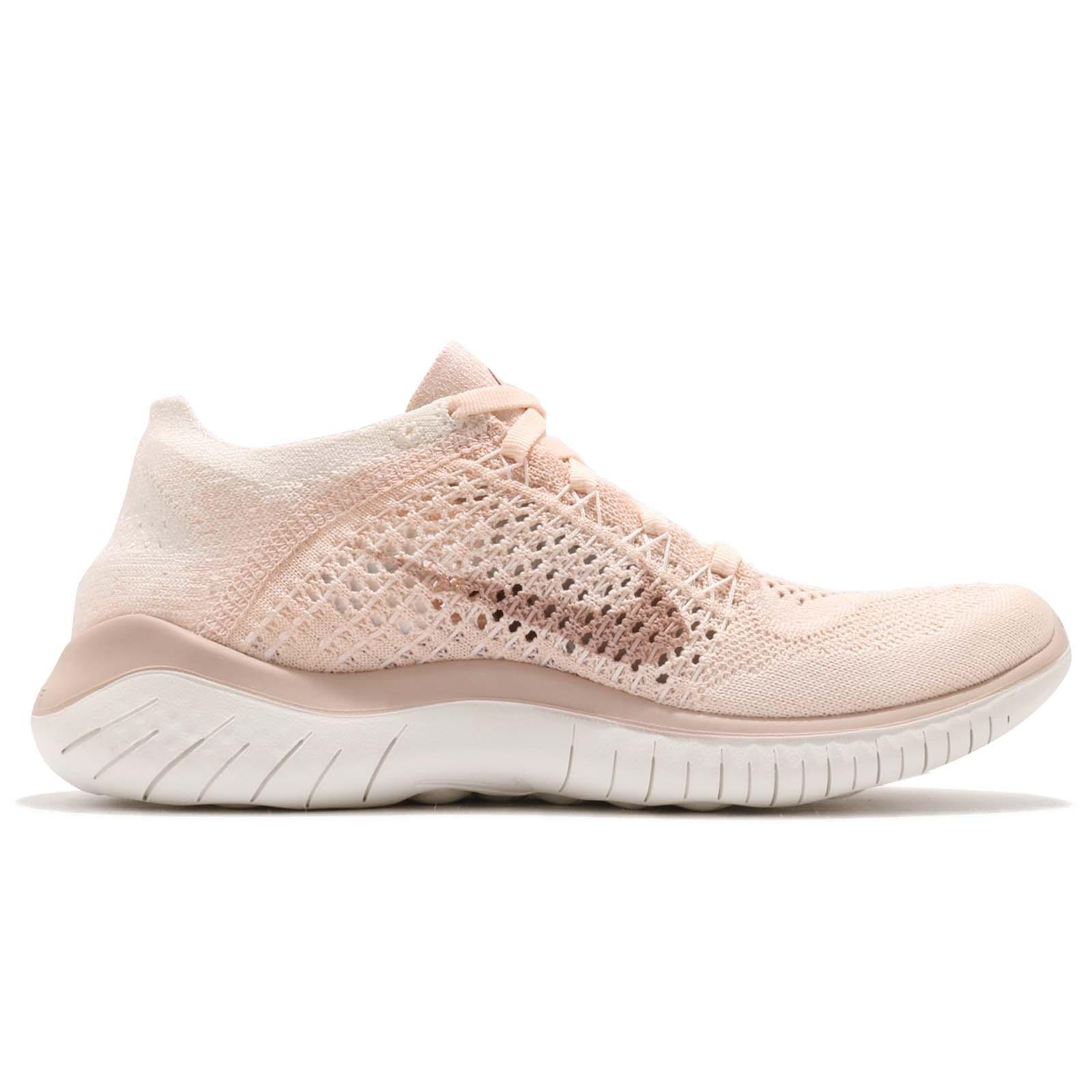 Nike Wmns Free RN Flyknit 2018 Guava Ice Beige Women Running Shoes ... c96be5c2a