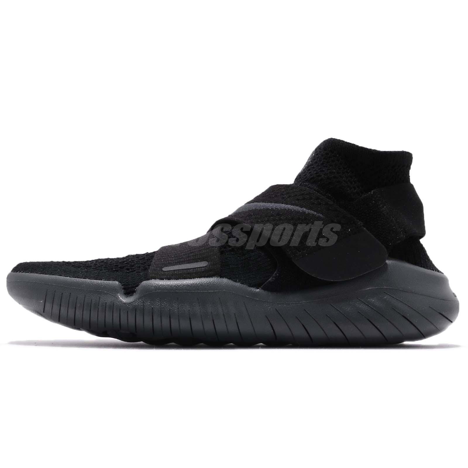 0a6fd78127b0 Nike Wmns Free RN Motion FK 2018 Flyknit Black Women Running Shoes 942841- 002