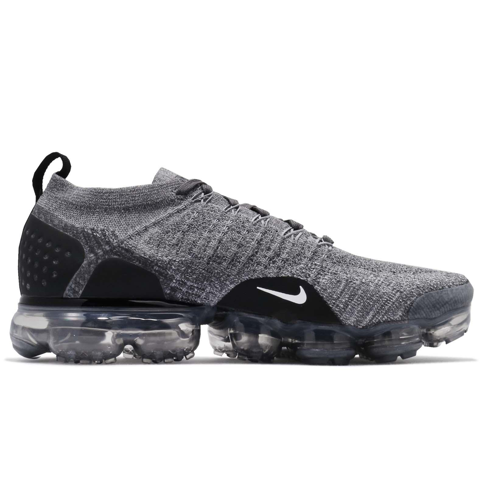 c8e237efc13 Nike Air Vapormax Flyknit 2 II Dark Grey Men Running Shoes Sneakers ...