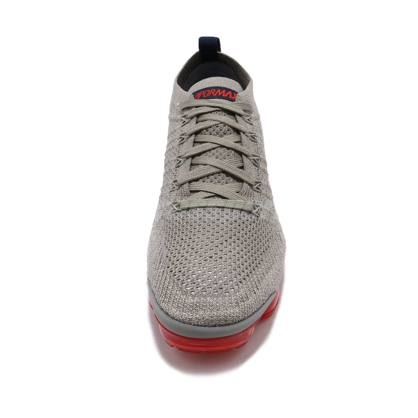 super popular 105e3 3a882 Nike Nike Air Vapormax Flyknit 2 II Dark Stucco Navy Red Men Shoes ...