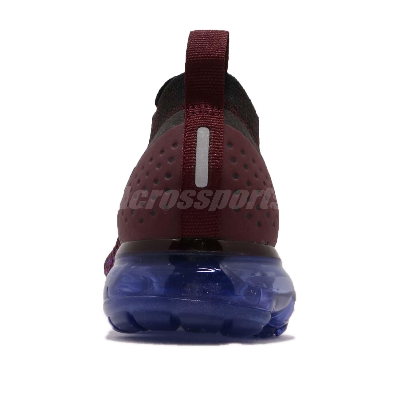 b6dd9422a084d Nike Wmns Air Vapormax Flyknit 2 II Black Team Red Women Running ...