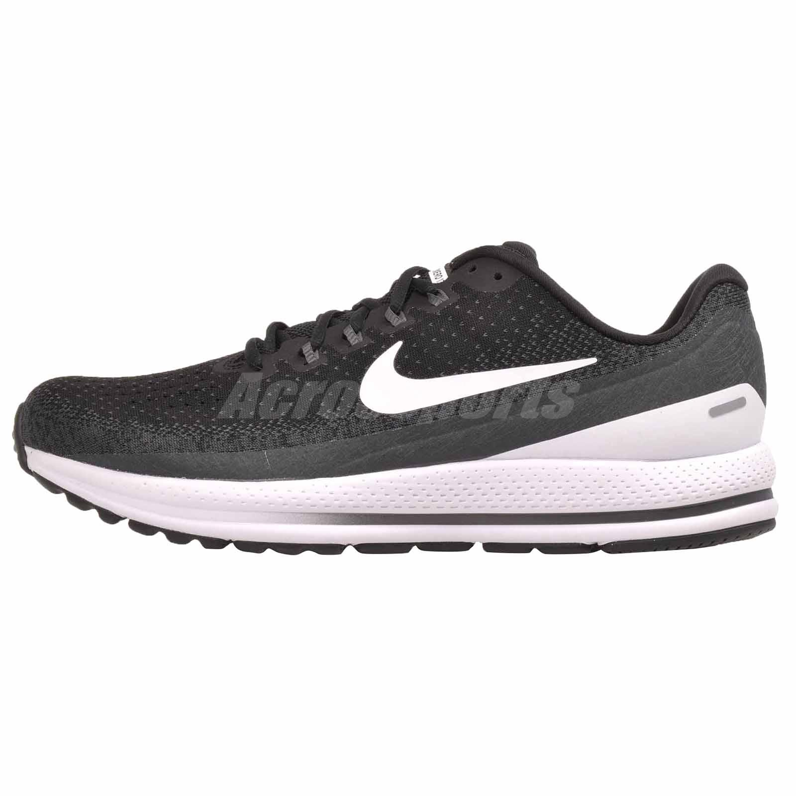 b935fe77422 Details about Nike Air Zoom Vomero 13 (4E) Running Mens Shoes Wide Black  White 942846-001