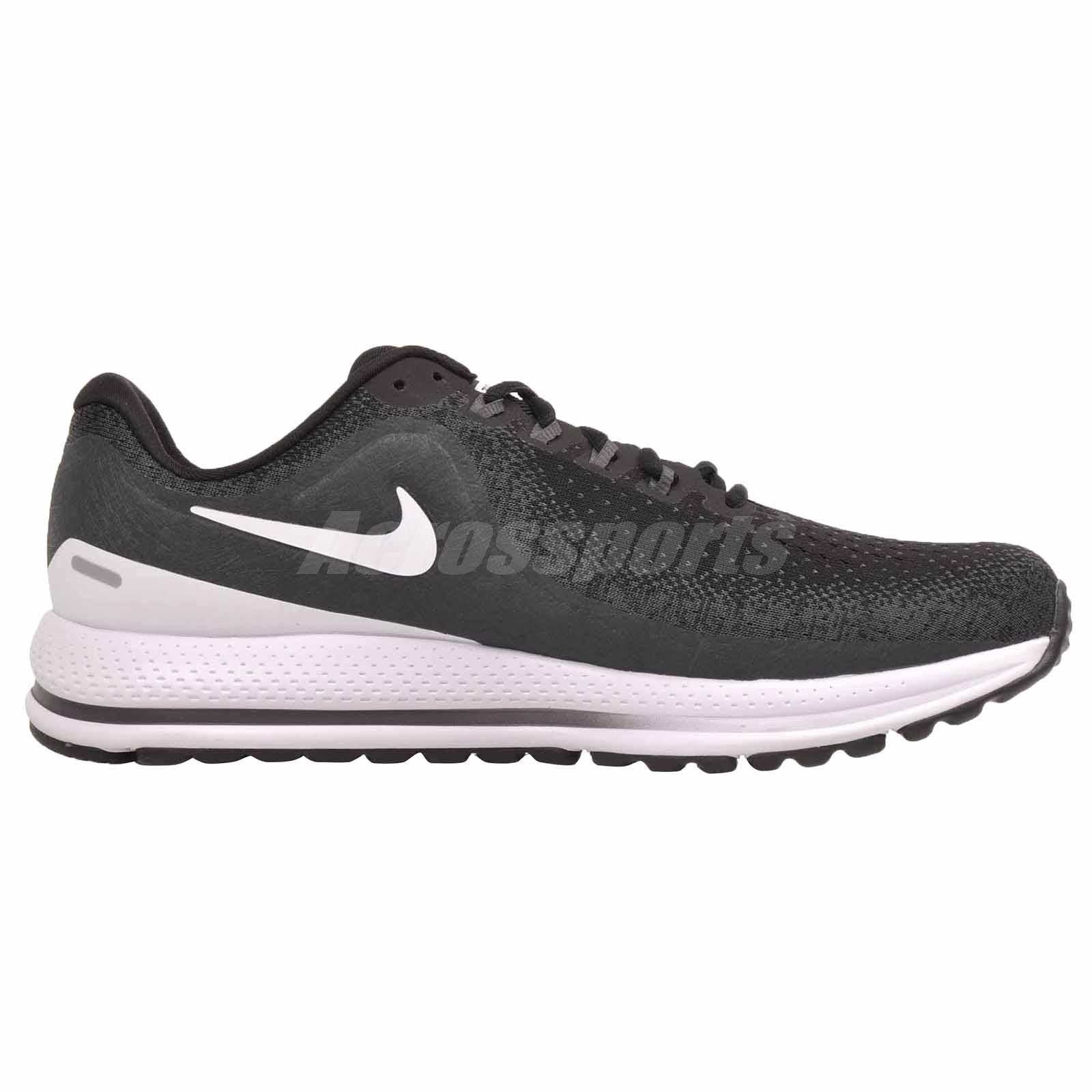 10b4888e60dd3 Nike Air Zoom Vomero 13 (4E) Running Mens Shoes Wide Black White ...