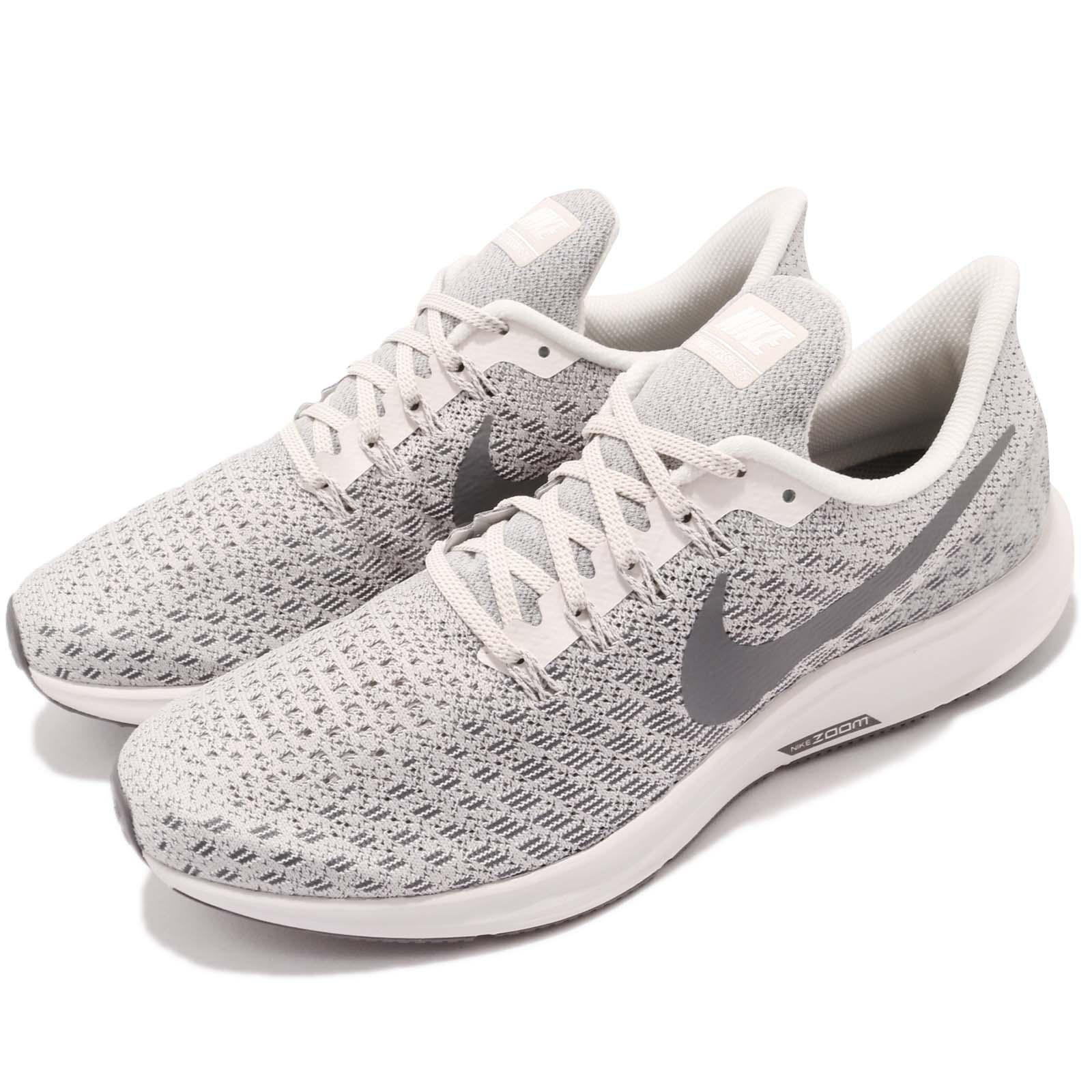 new concept 789c5 58fb4 Details about Nike Air Zoom Pegasus 35 Phantom Grey White Men Running Shoes  Sneaker 942851-004