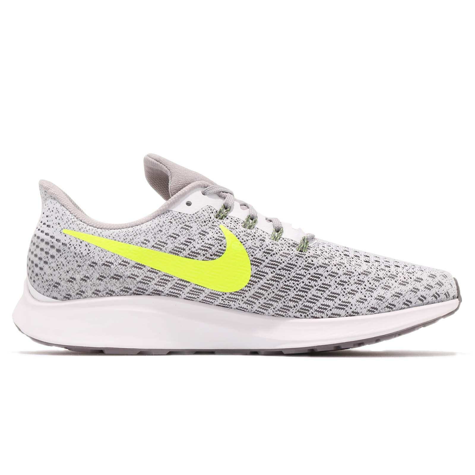 905e43a22798 Nike Air Zoom Pegasus 35 White Volt Grey Men Running Shoes Sneakers ...