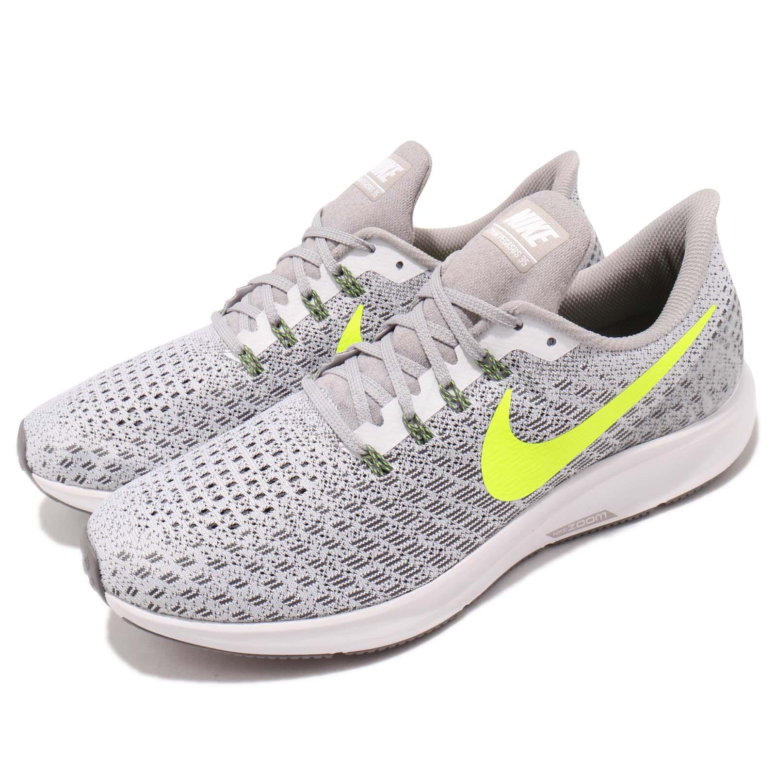 6d6f67357265 Details about Nike Air Zoom Pegasus 35 White Volt Grey Men Running Shoes  Sneakers 942851-101
