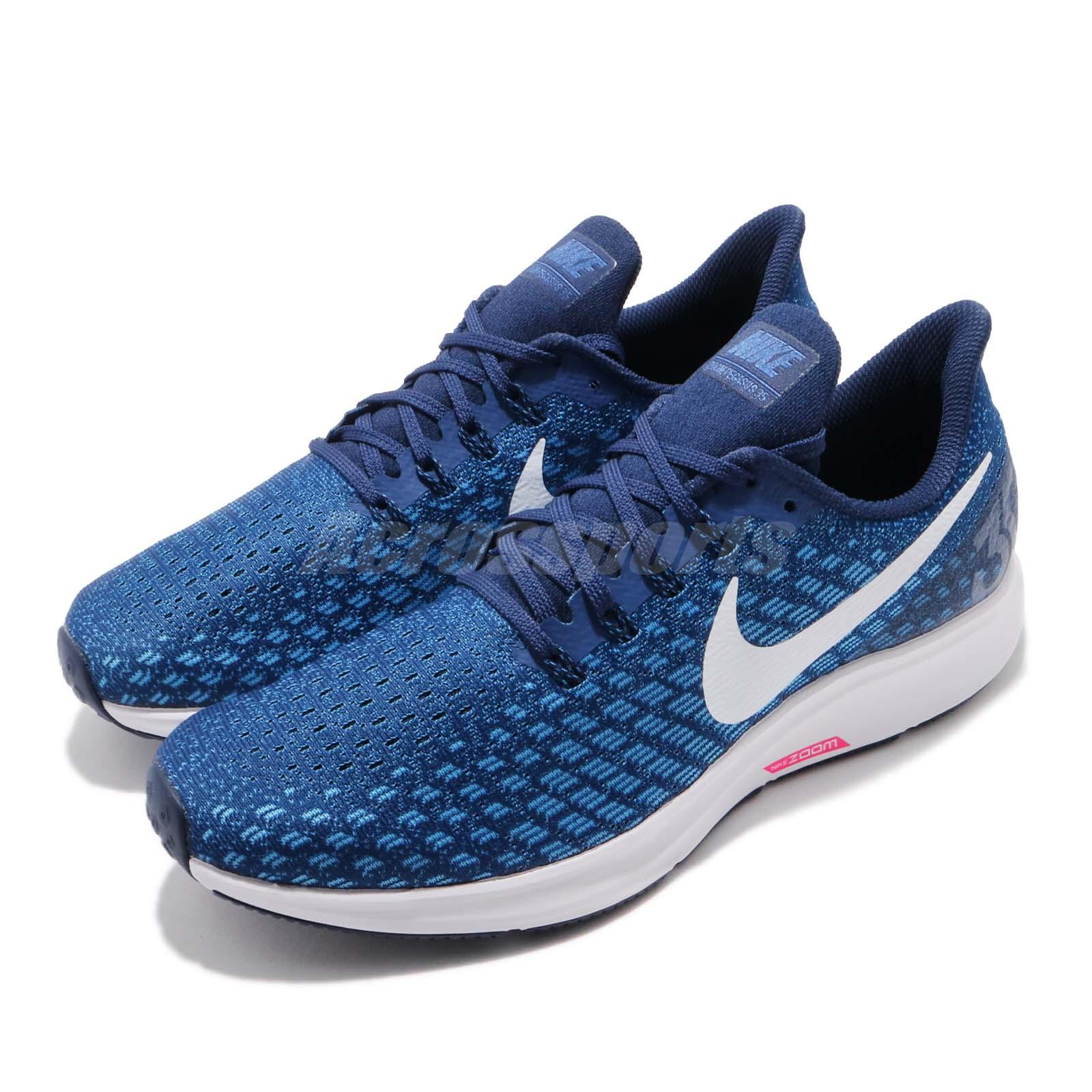 Air Force Men Shoes White Indigo Nike 35 Pegasus Zoom Running Blue OPiuXZk