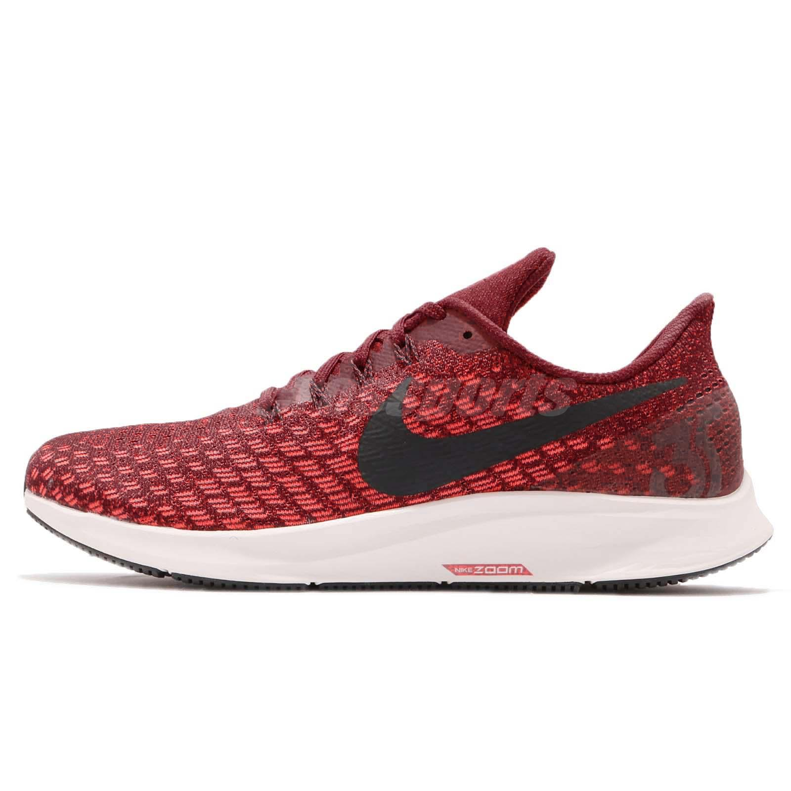 official photos 61b53 1f9e9 Nike Air Zoom Pegasus 35 Red White Black Men Running Shoes Sneakers 942851- 601