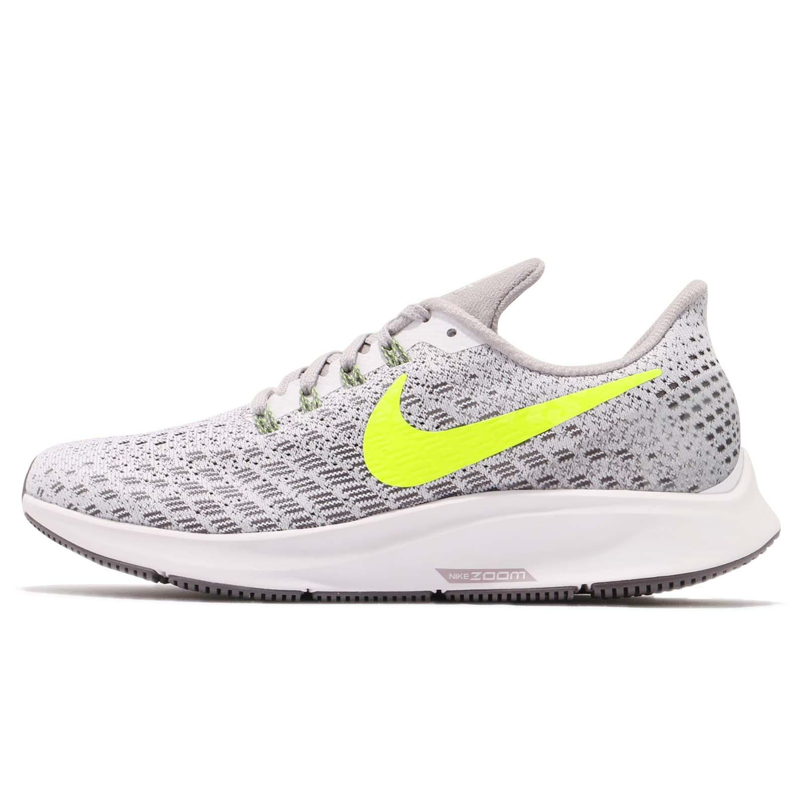 052ec6a25bf4 Nike Wmns Air Zoom Pegasus 35 White Volt Grey Women Running Shoes 942855-101