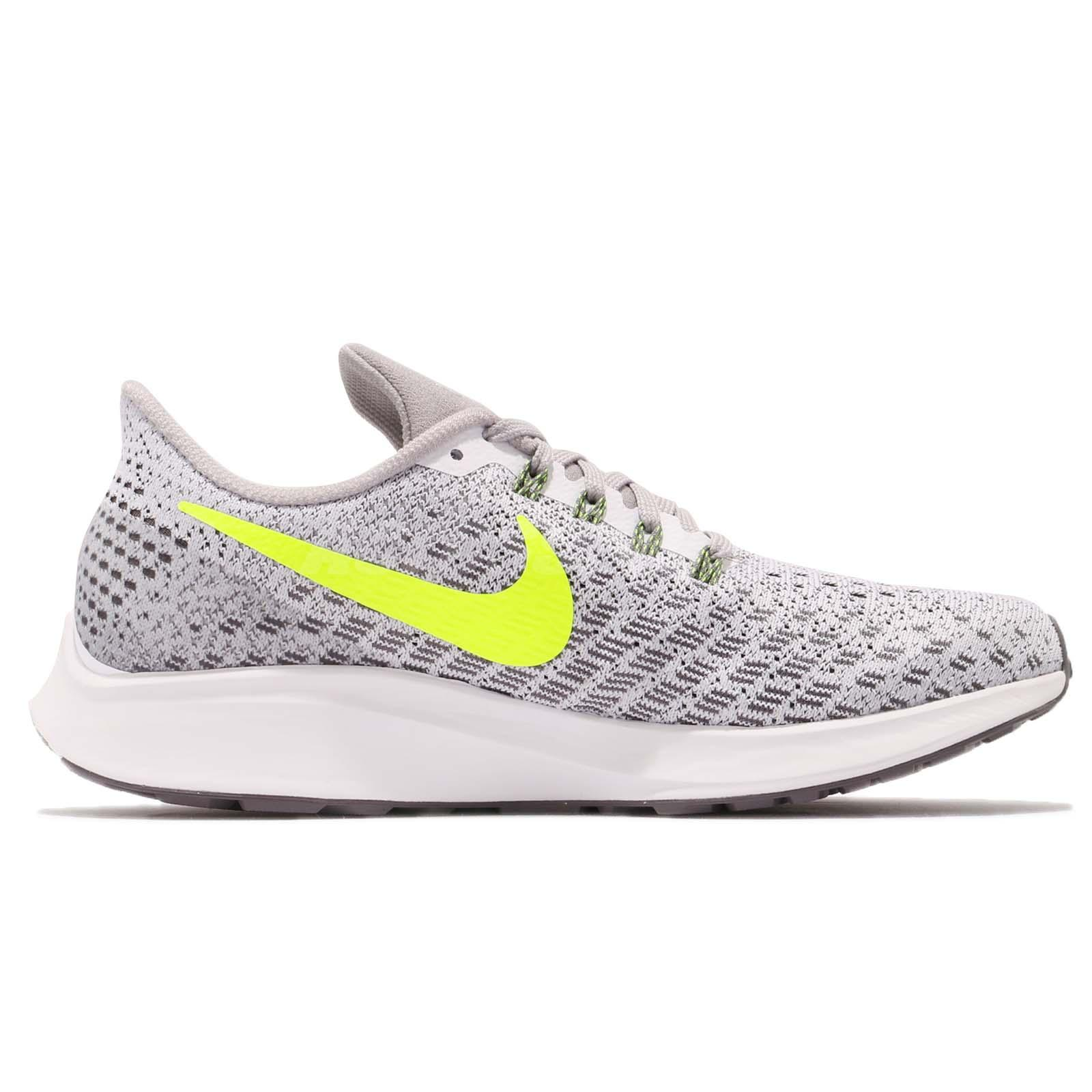 3f55d4d38e90 Nike Wmns Air Zoom Pegasus 35 White Volt Grey Women Running Shoes ...