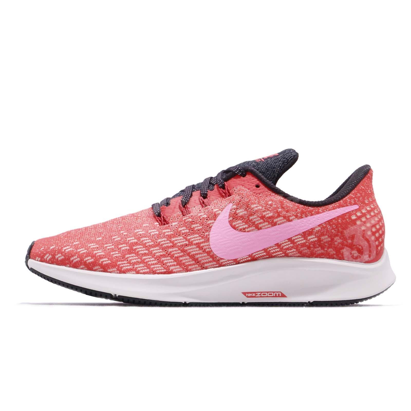 c1b98912568b2 Nike Wmns Air Zoom Pegasus 35 Ember Glow Red Pink Womens Running Shoe 942855 -800