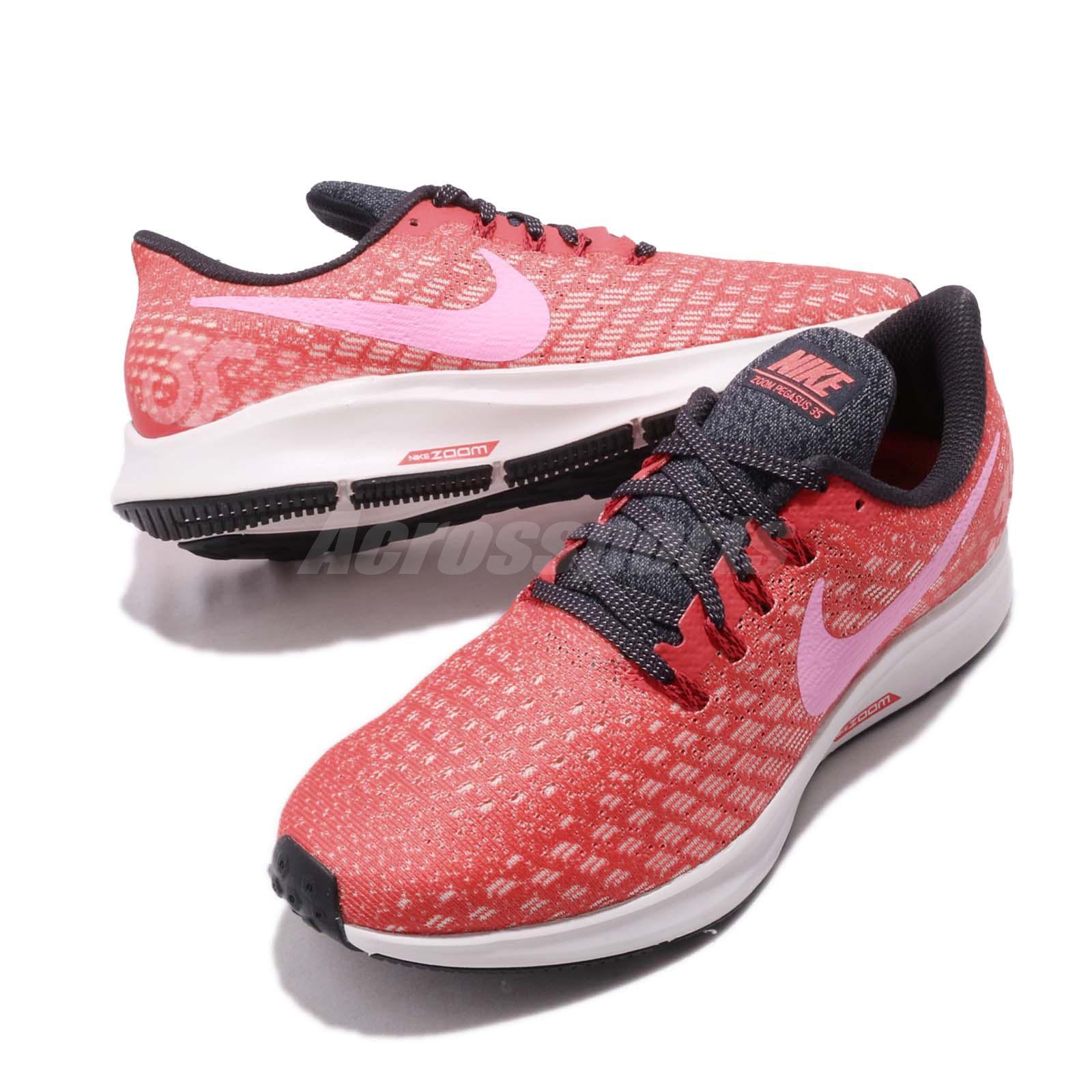552c30ab58991 Nike Wmns Air Zoom Pegasus 35 Ember Glow Red Pink Womens Running ...