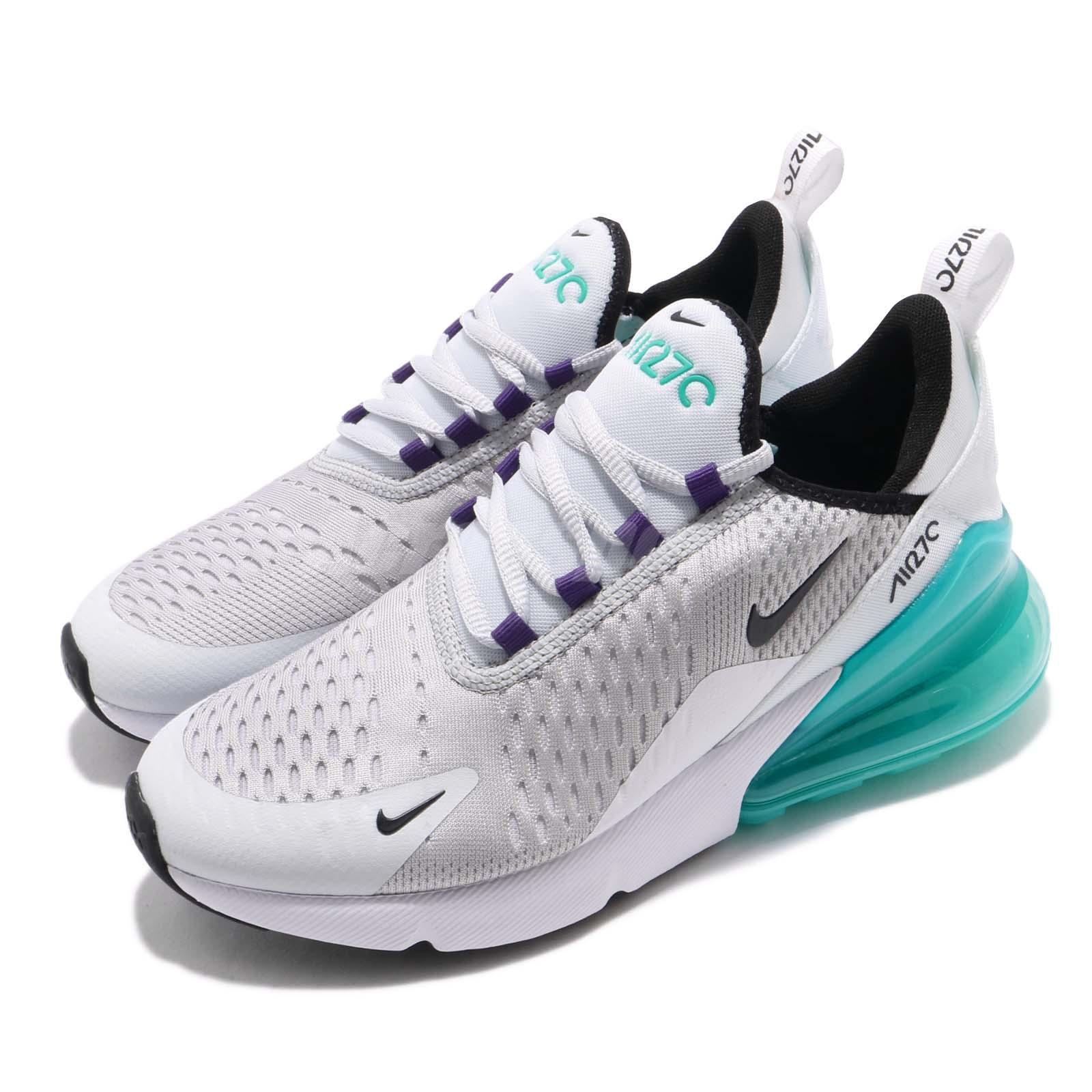 Detalles acerca de Nike Air Max 270 grade school Pure Platinum Hyper Jade Niño Mujeres Zapatillas Para Correr 943345 010 mostrar título original
