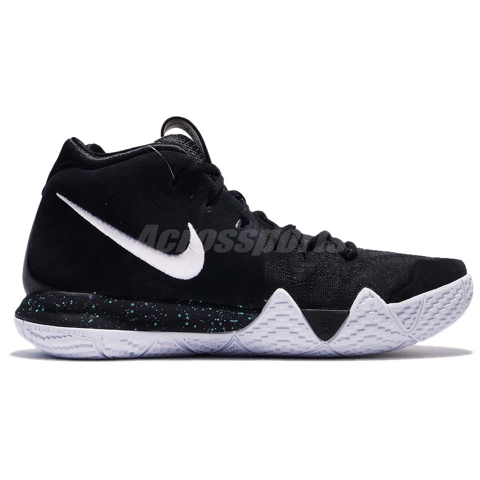 48b960747ae Nike Kyrie 4 EP IV Irving Ankle Taker Black Ice White Men Basketball ...