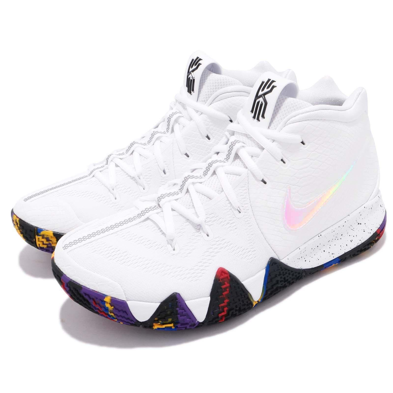 cheap for discount 2cabc 90ff5 Nike Kyrie 4 EP March Madness NCAA Irving White Mens Basketball Shoes  943807104 - tualu.org