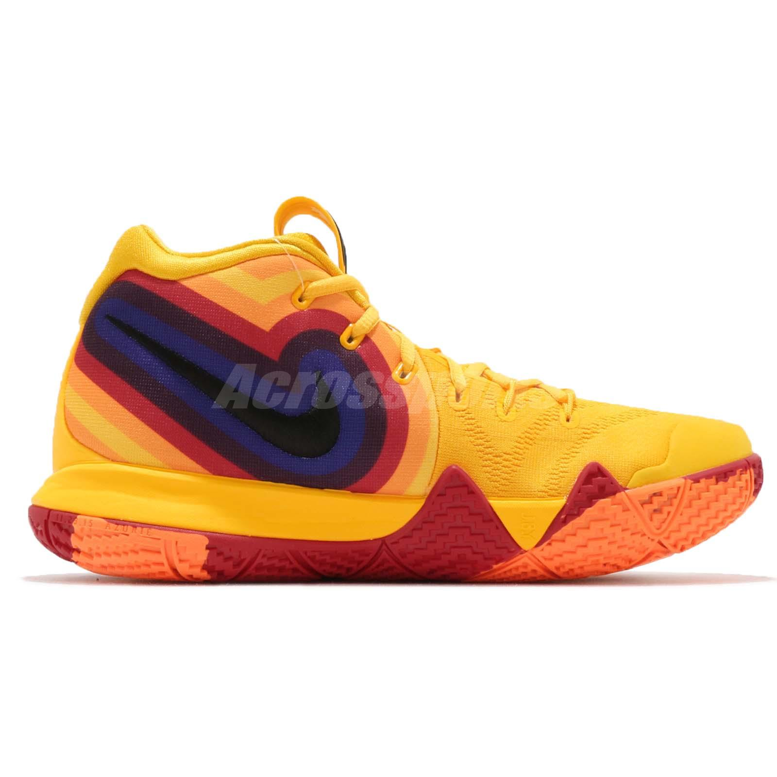 44e4186ada8 Nike Kyrie 4 EP 70s Uncle Drew Decades Pack Yellow Basketball Shoes ...