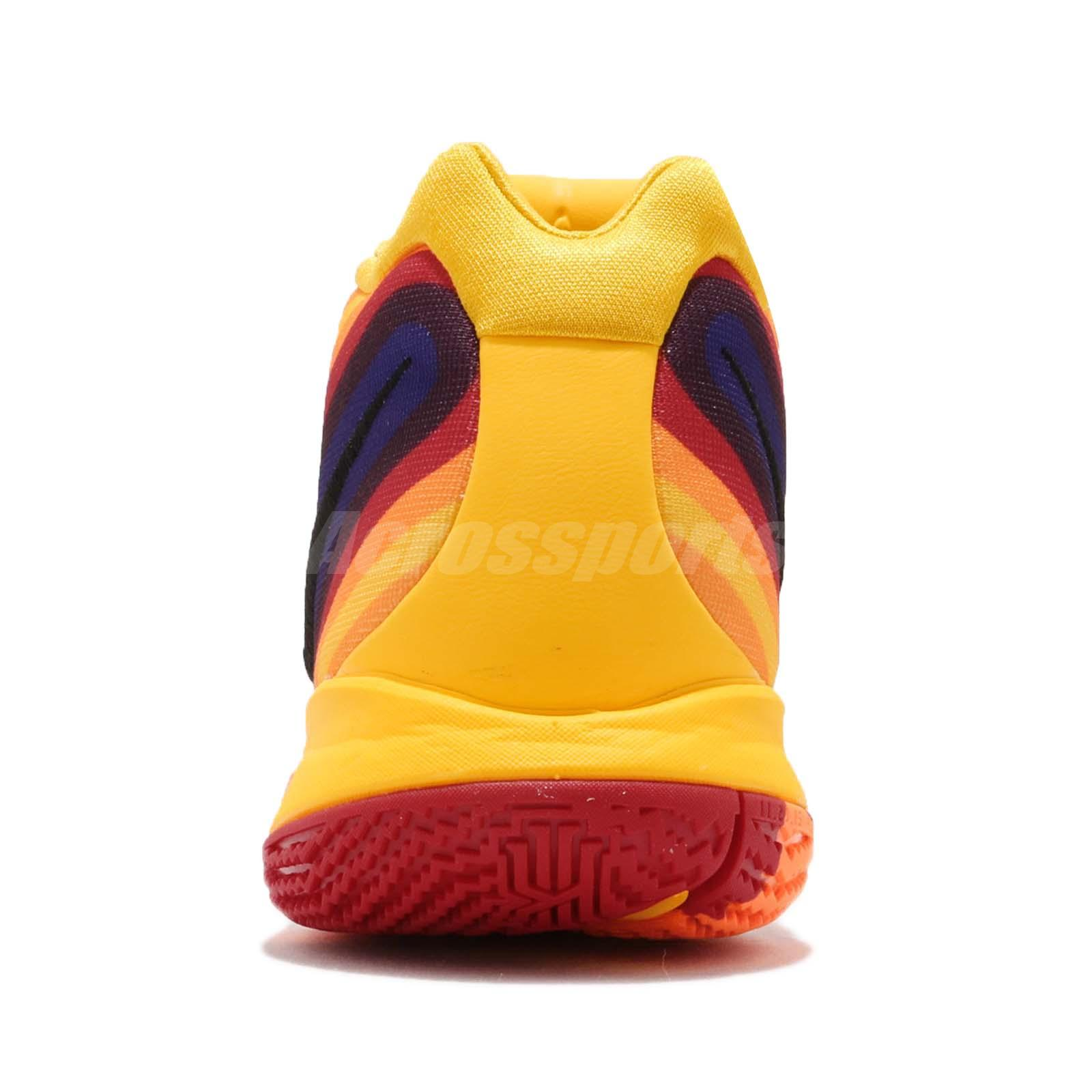 9ecd2af4f01 Nike Kyrie 4 EP 70s Uncle Drew Decades Pack Yellow Basketball Shoes ...