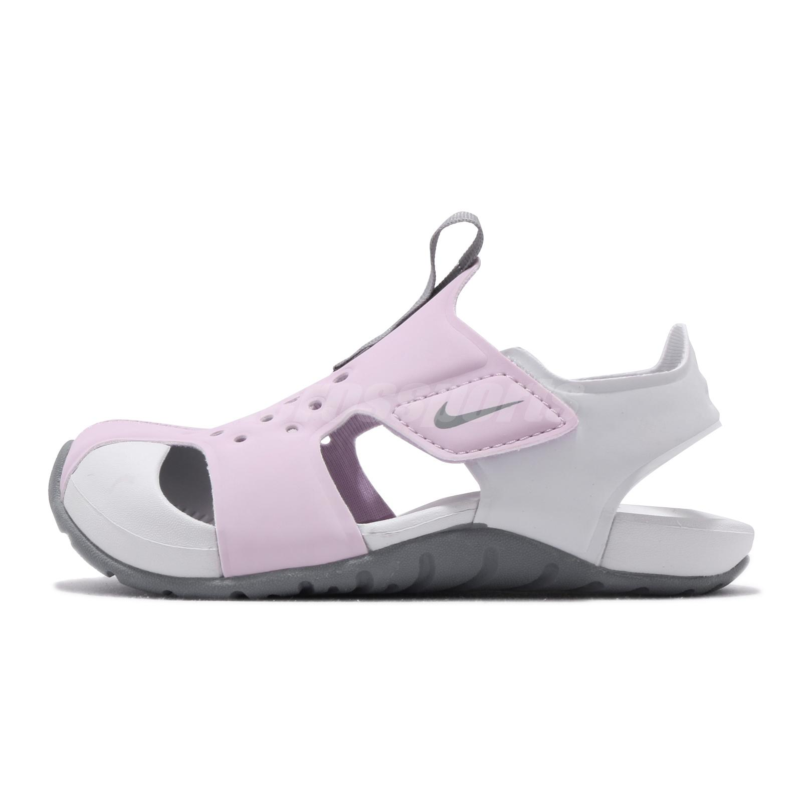 943826-602 PS Shoes Psychic Pink New Nike Preschool Sunray Protect 2 Sandal