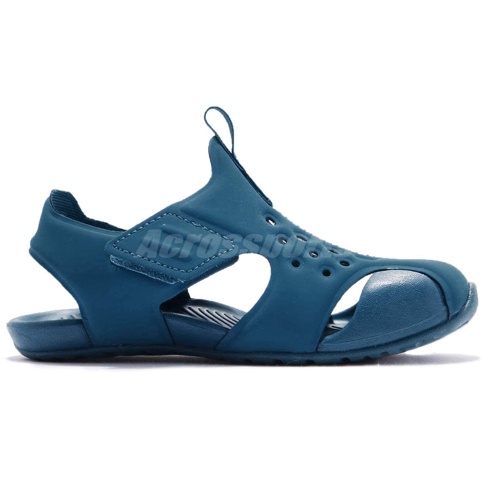 800d40b0e1d1 Nike Sunray Protect 2 TD Green Abysswhite Blue Toddler Infant Sandal ...