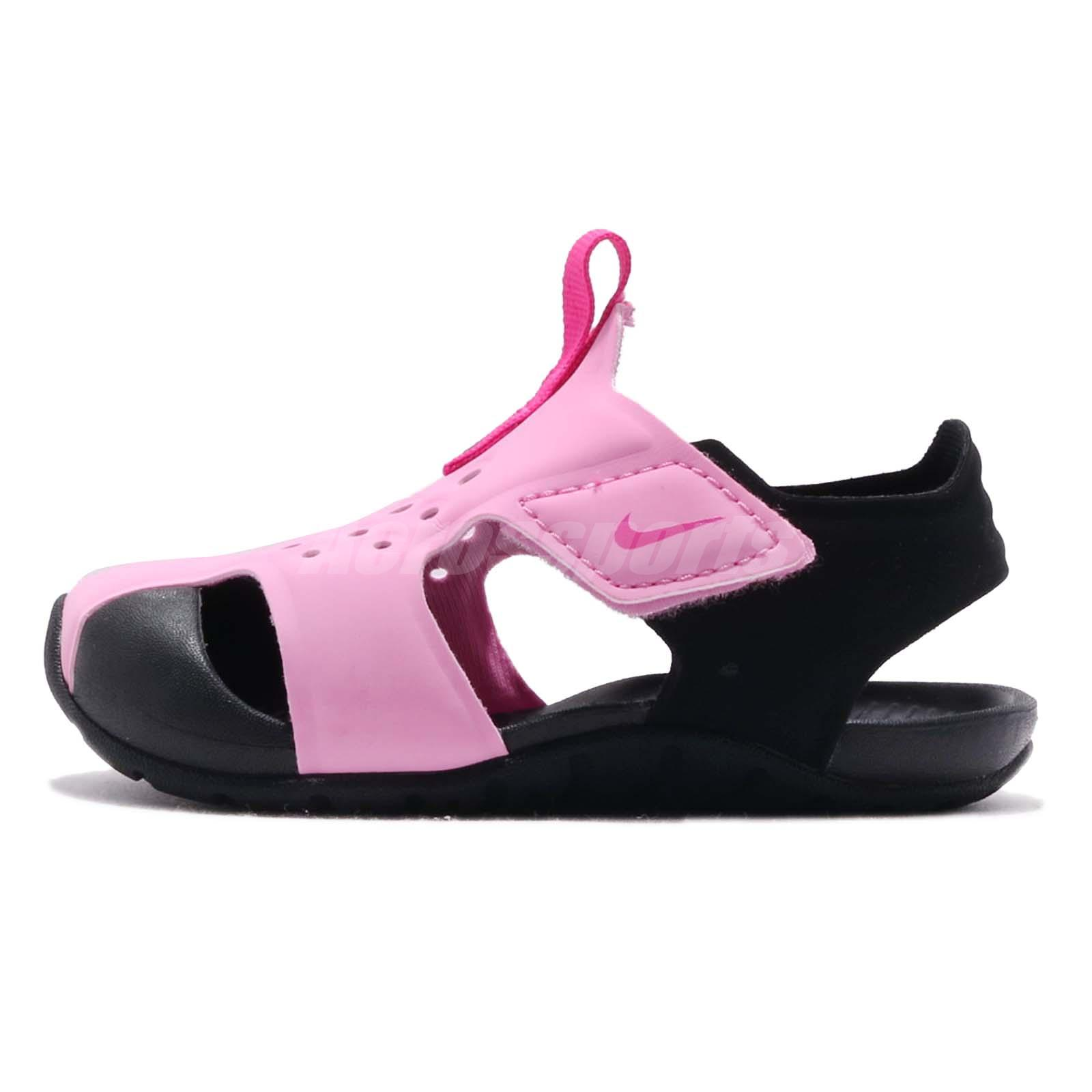 a3df2d9e7277 Nike Sunray Protect 2 TD Psychic Pink Toddler Infant Sandals Shoes  943827-602