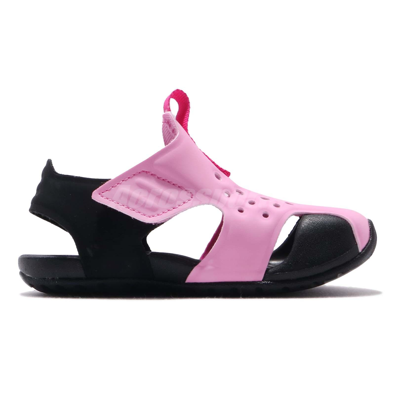 5e29fba8a4a7 Nike Sunray Protect 2 TD Psychic Pink Toddler Infant Sandals Shoes ...