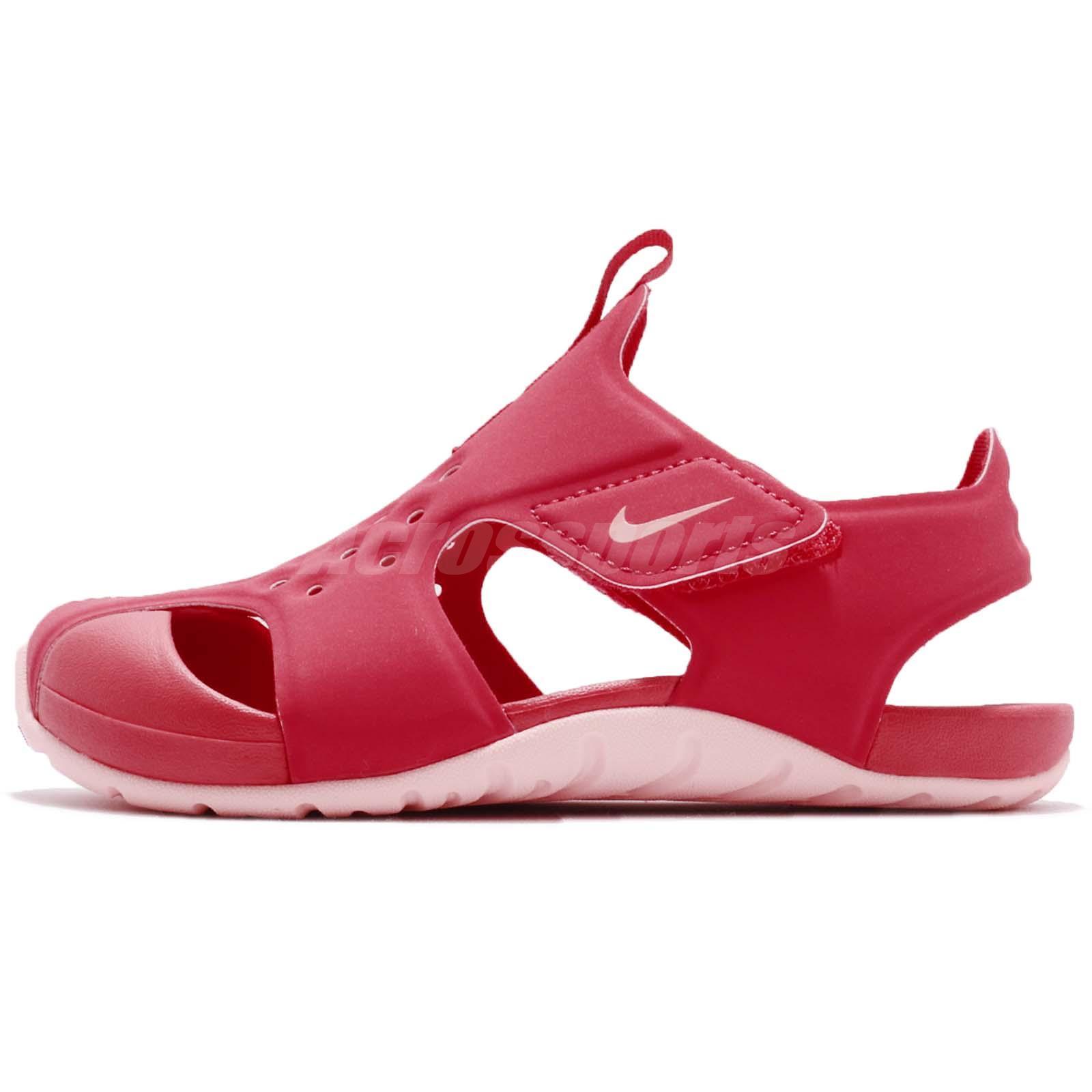 a2573635b227 Nike Sunray Protect 2 PS Tropical Pink Preschool Girl Sandal Shoes  943828-600