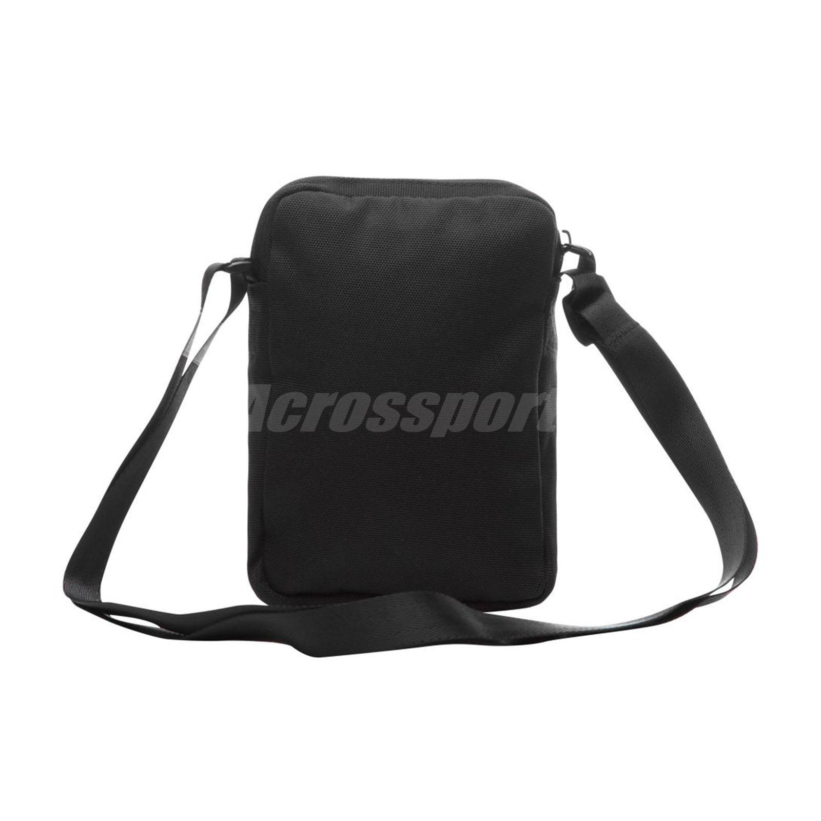 Nike Jordan Airborne Crossbody Shoulder Bag Small Mini Handbag Black ... 6acb54b0ad7db