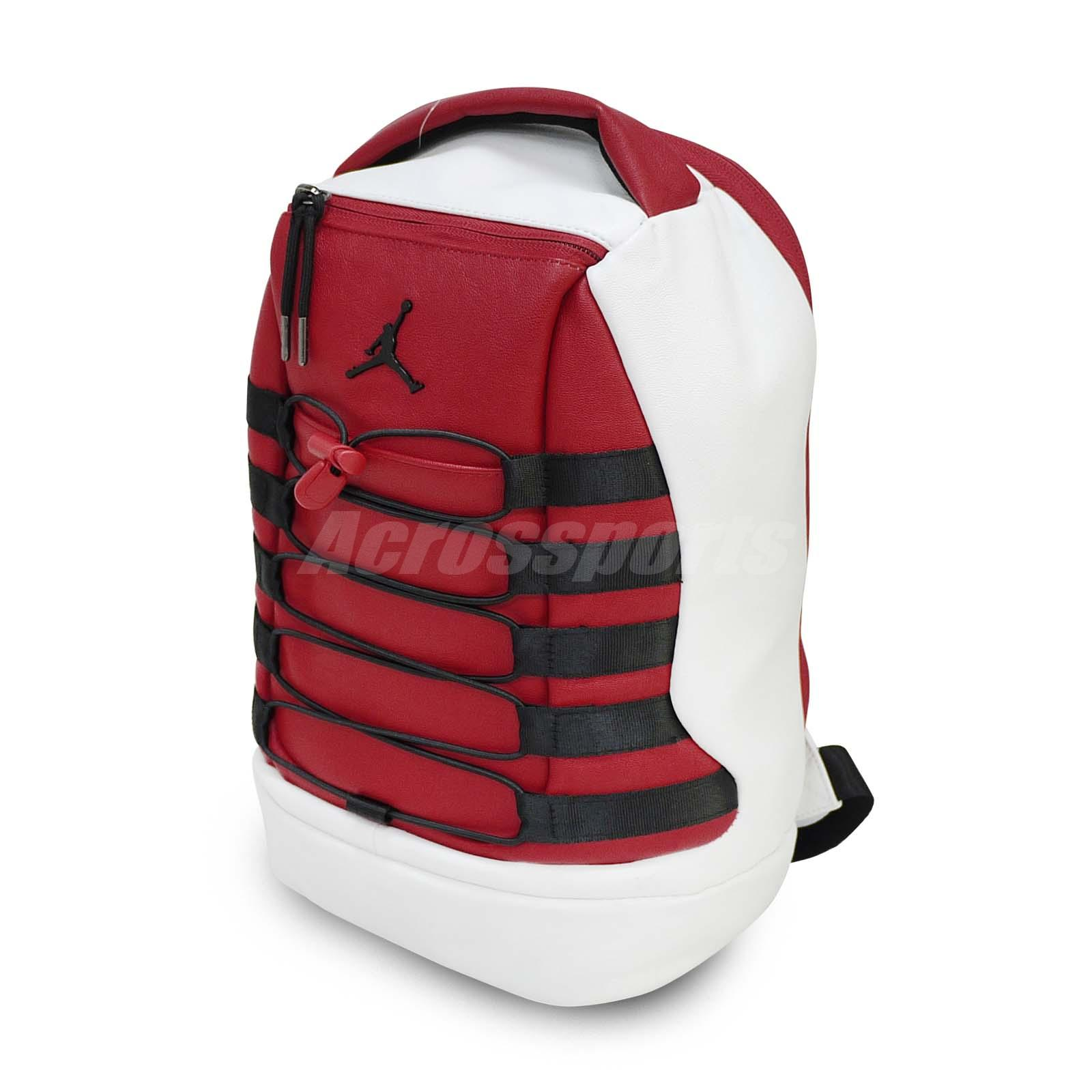 e65520e7c73282 Details about Nike Jordan Retro 10 X Chicago Black Red White Mini Backpack  Bookbag 12.5L Air