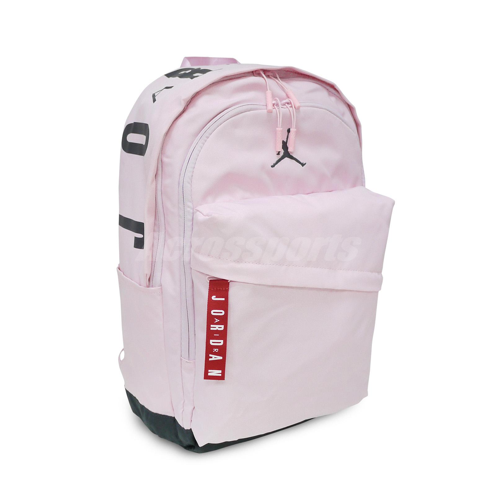b66671bc871e Details about Nike Jordan Air Patrol Pack 27L Backpack Bookbag Pink Red  Jumpman Kid 9A0172-A9Y