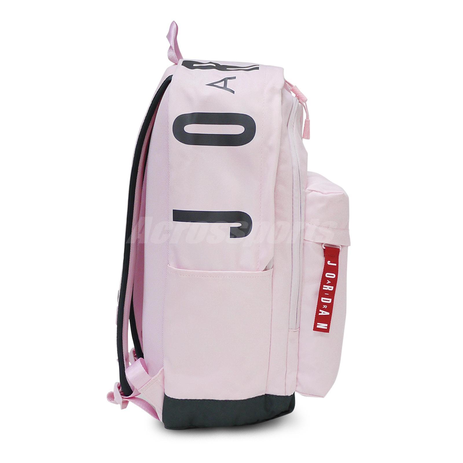 d04eb433d8e0 Nike Jordan Air Patrol Pack 27L Backpack Bookbag Pink Red Jumpman ...