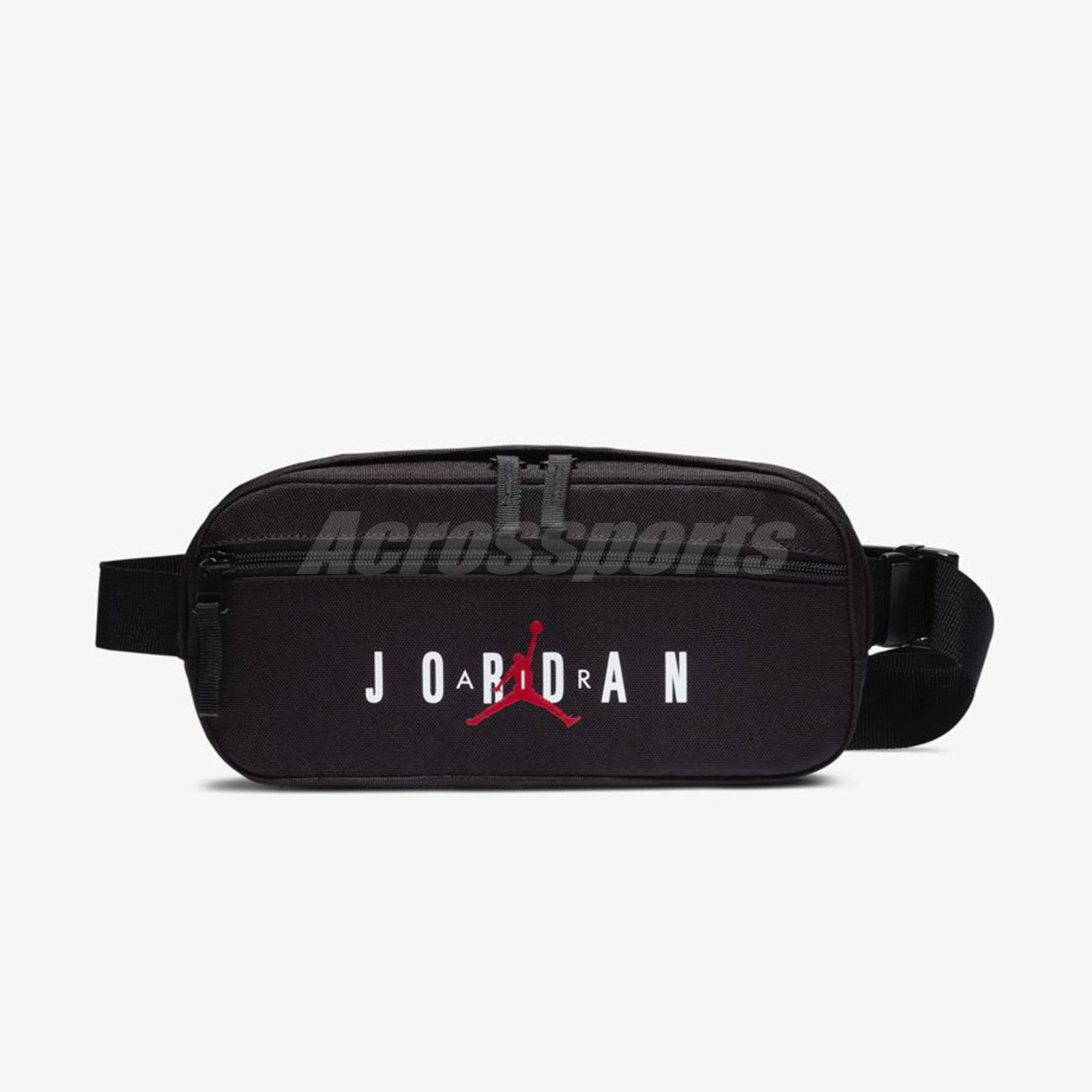 3f325f345a4 Nike Air Jordan 6 VI Infrared Black Red Crossbody Fanny Waist Bag 9A0230-023