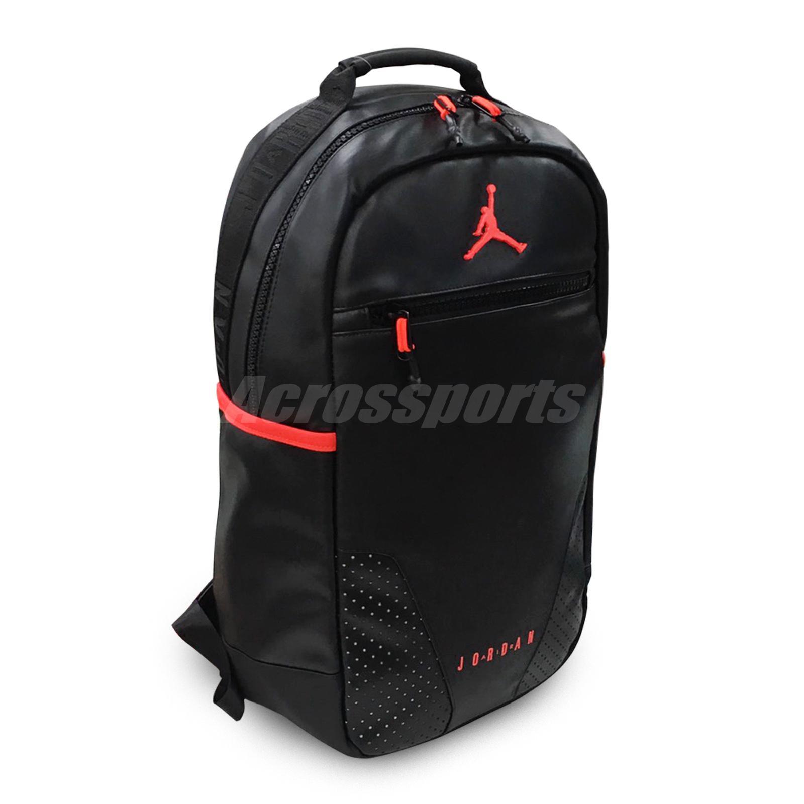 Details about Nike Air Jordan Retro 6 IV Infrared Black Red PSG Backpack  2019 OG 9A0259-023