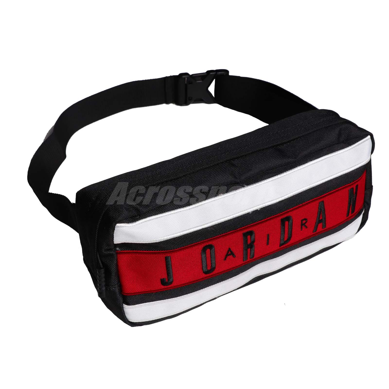 servicio duradero buena venta como encontrar Nike Jordan Taped Crossbody Waist Bag Air Jumpman Sports Casual ...