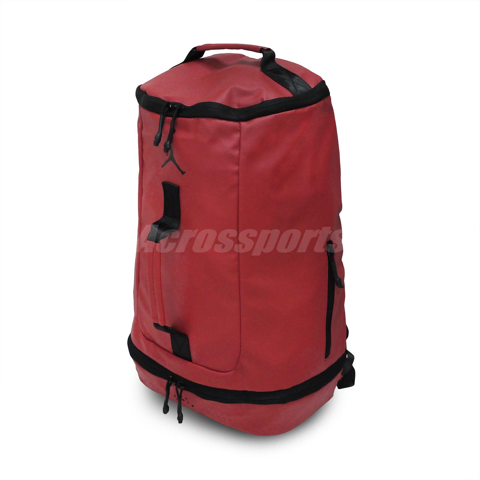 8e16dbf11f0 Details about Nike Jordan Off Court High Rise Red Laptop Water Resistant  Backpack 9A1941-R78