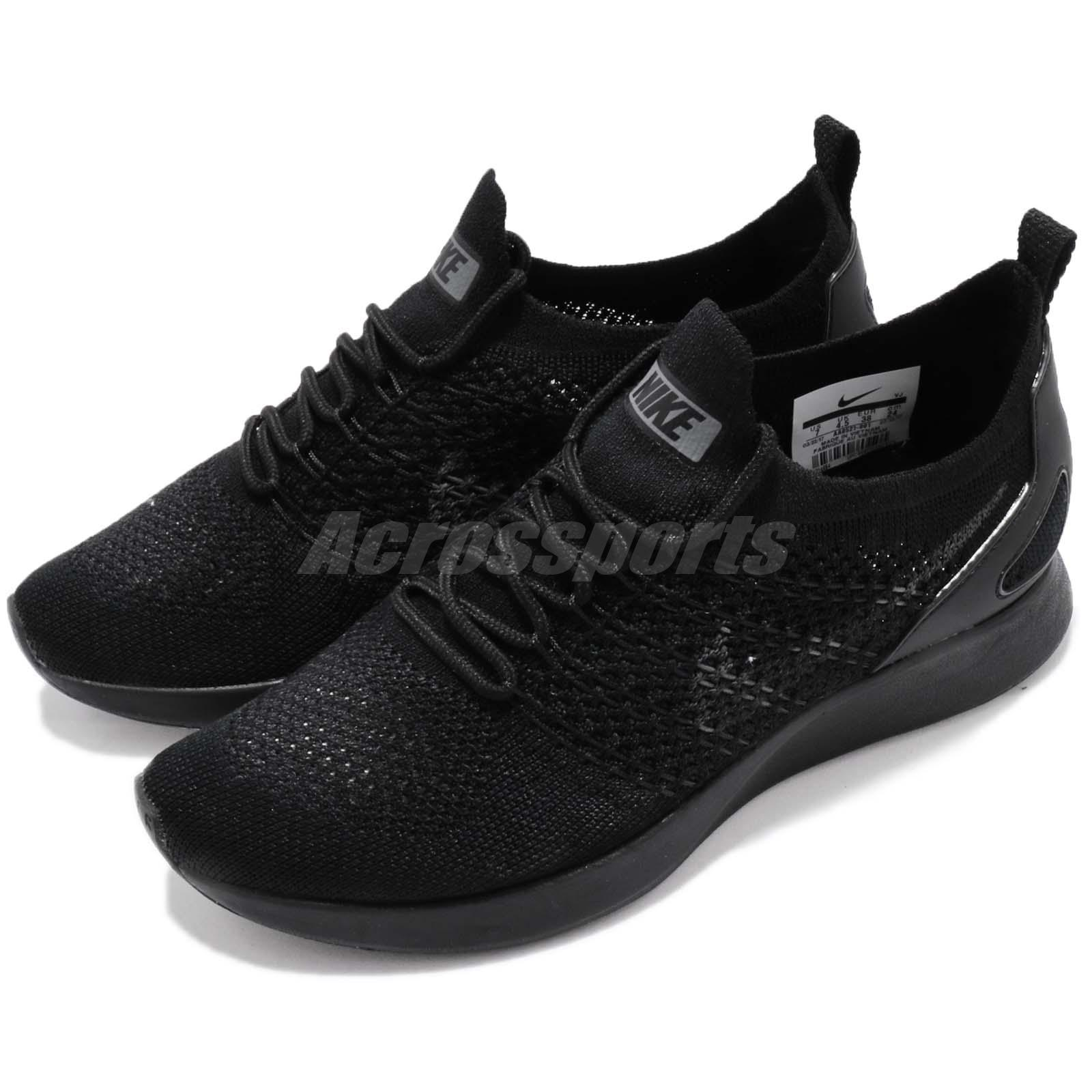 Nike Wmns Air Zoom Mariah FK Racer Flyknit Black Running Shoes AA0521-001