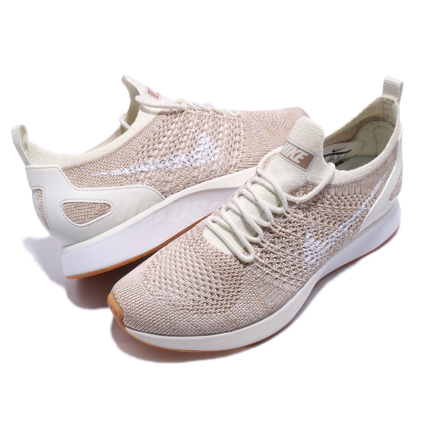 ecd077af1c1c3 Nike Wmns Air Zoom Mariah FK Racer Flyknit Sail Sand Women Running ...