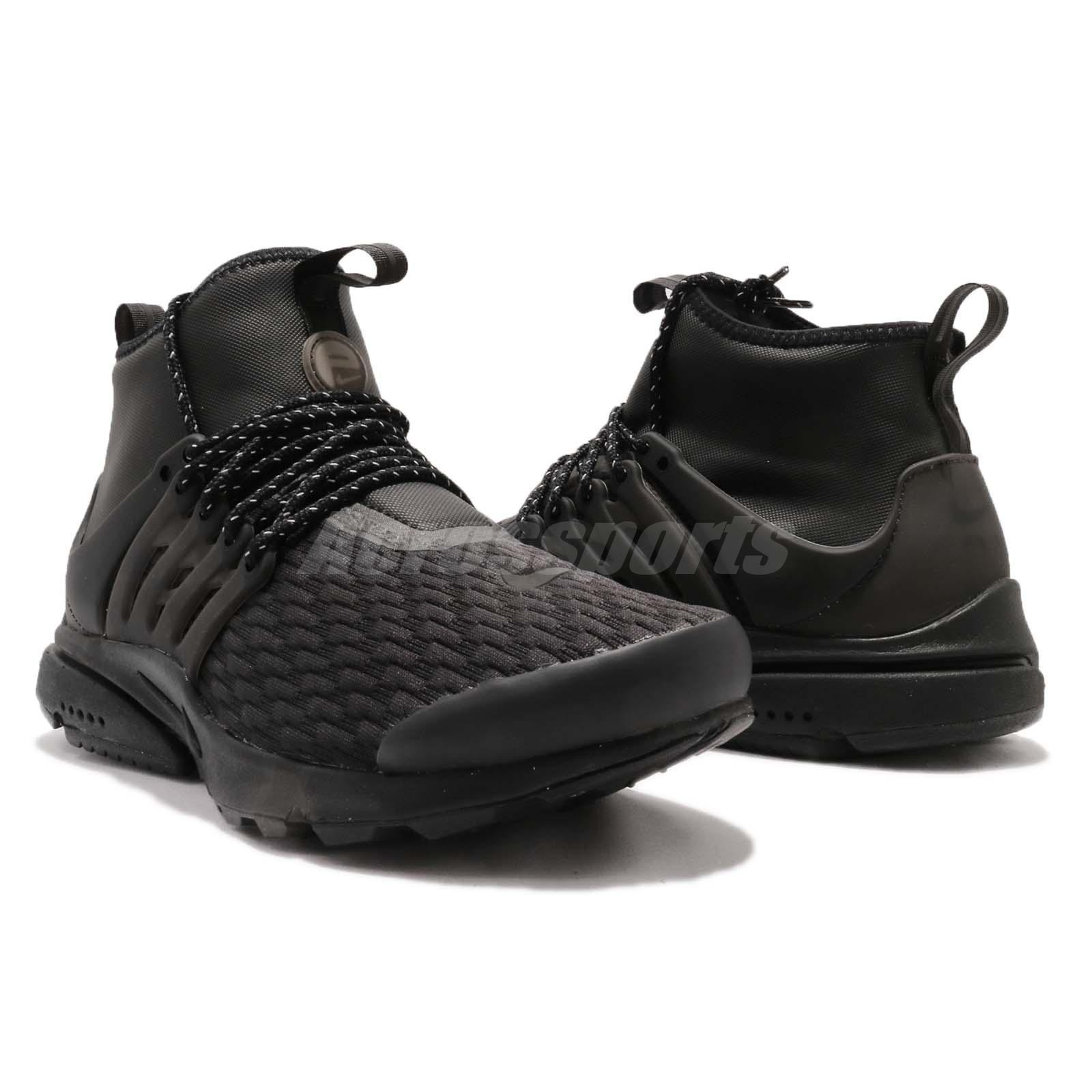 info for 5cb96 2245e Nike Wmns Air Presto Mid Utility PRM Black Womens Casual Shoes ...