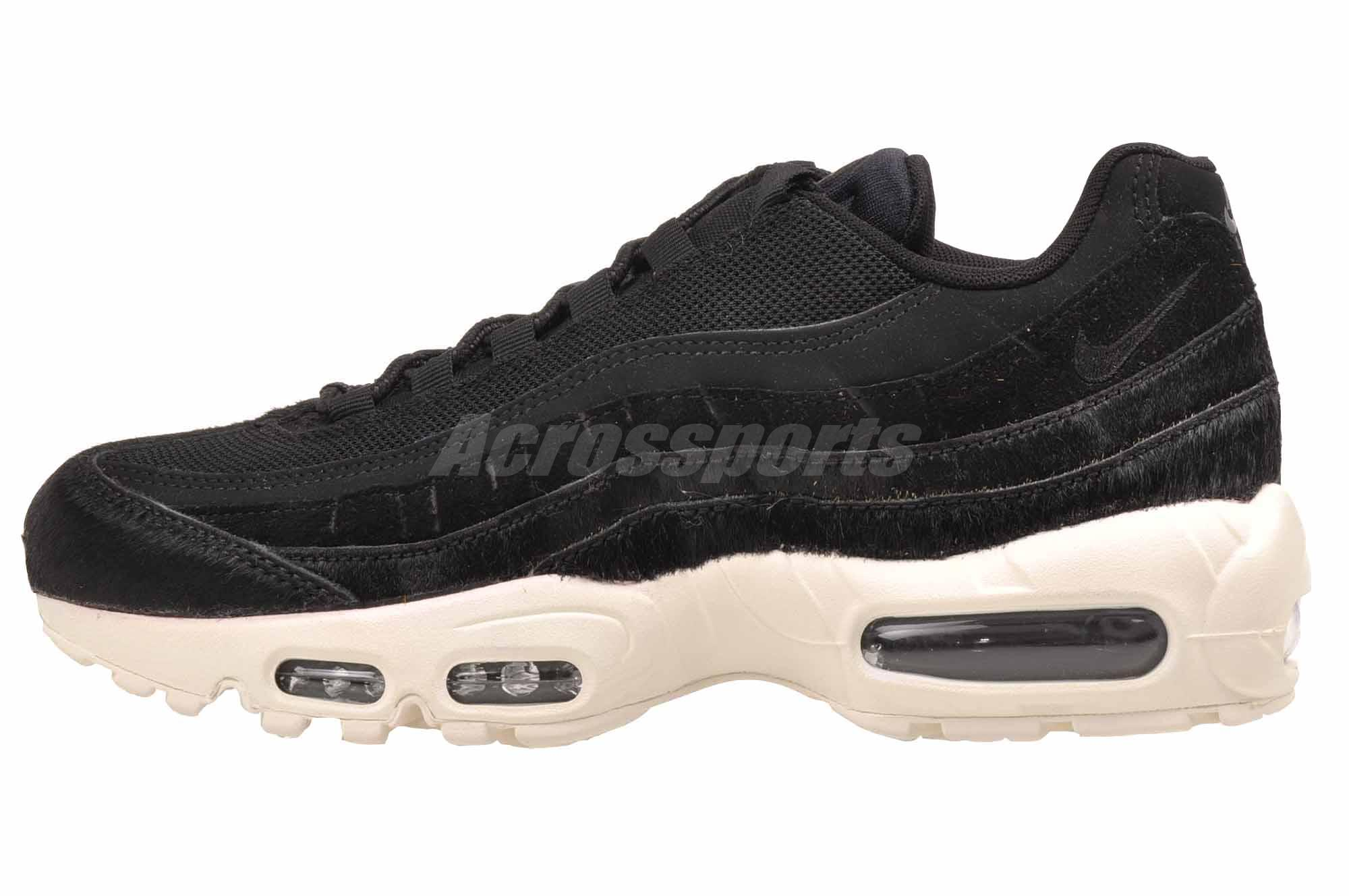 Nike Wmns Air Max 95 LX Casual Womens Shoes Black Grey Sail AA1103-001
