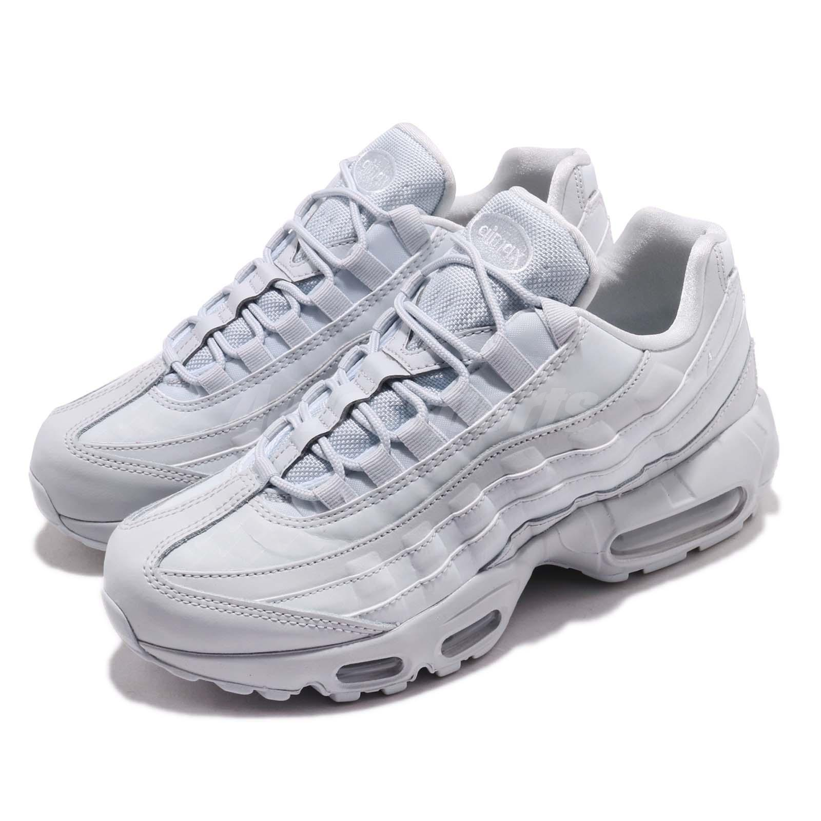 Details about Nike Wmns Air Max 95 LX Grey Pure Platinum Reflective Women  Shoes AA1103-005 48bf77ddc