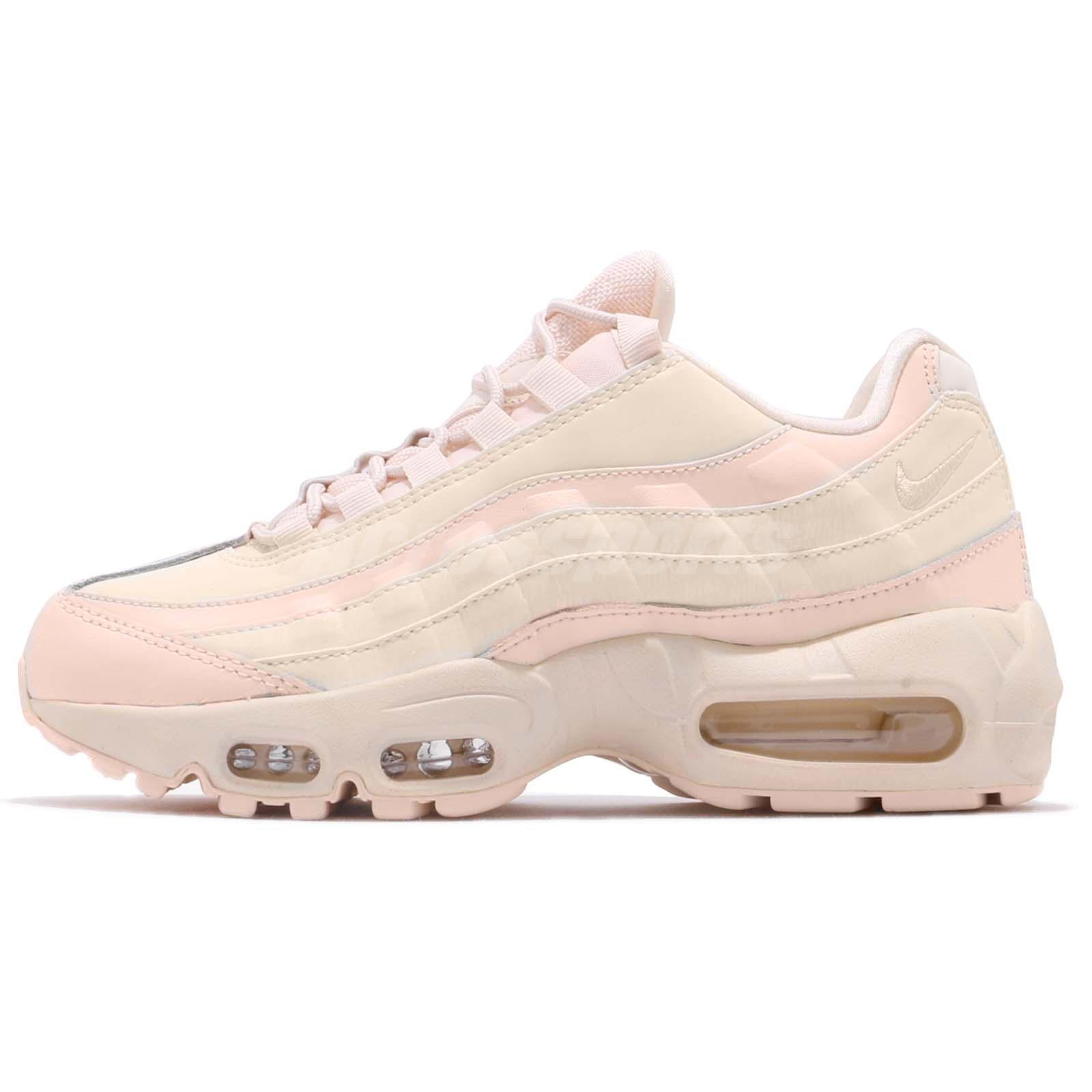 Nike Wmns Air Max 95 LX Lux Reflective Guava Ice Pink Womens Shoes  AA1103-800 a12acbdd4